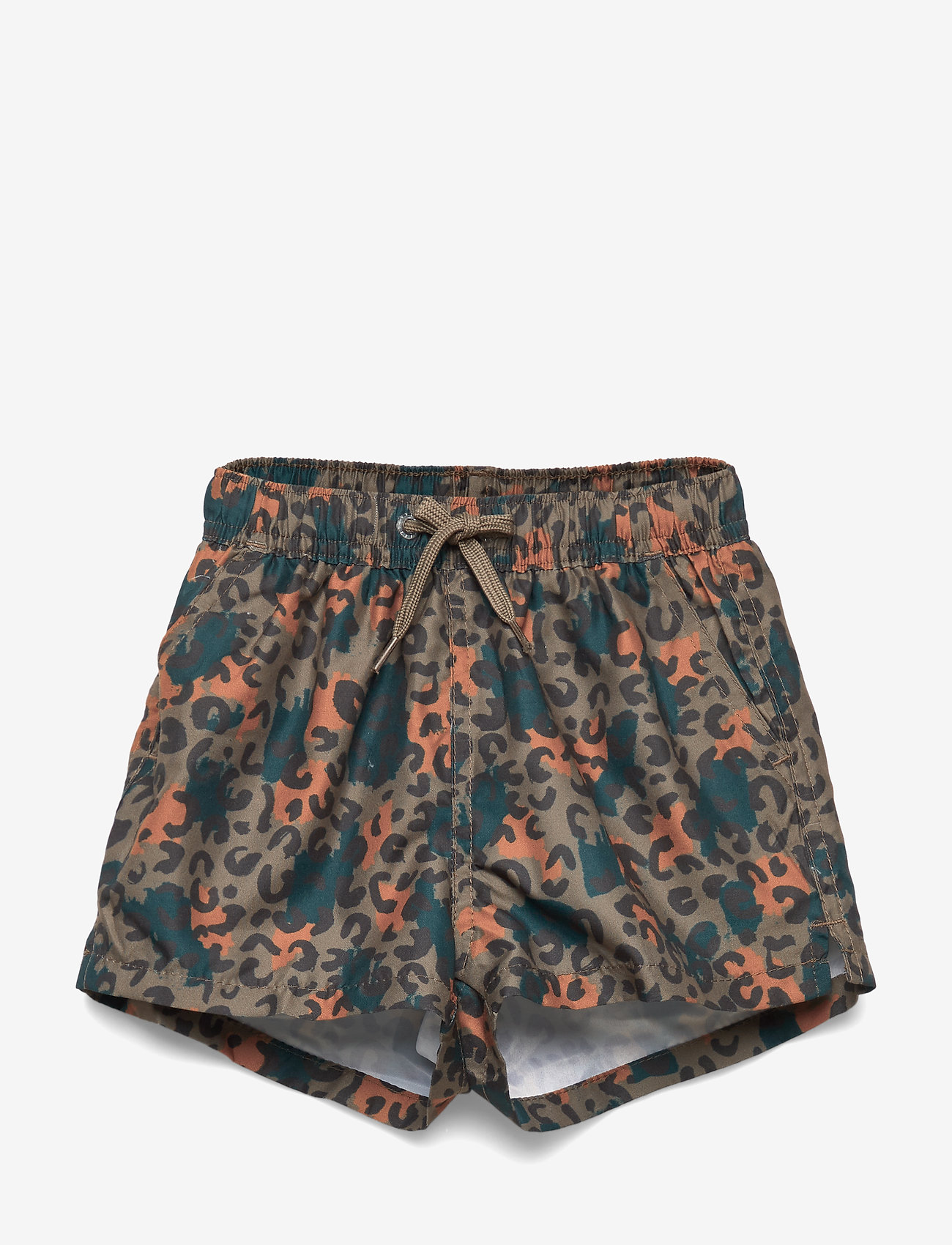 Soft Gallery - Edison Swim Pants - badehosen - fossil, aop camoleo swim - 0