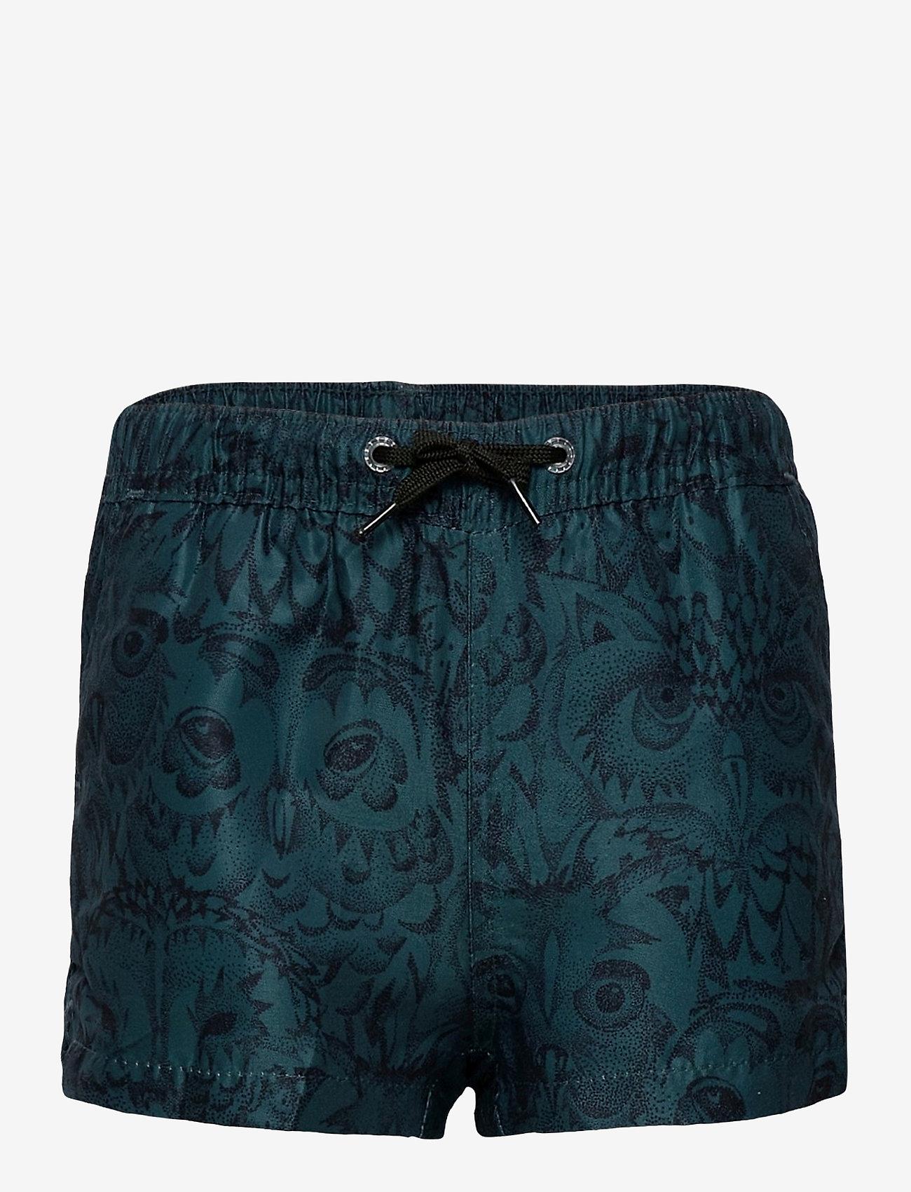 Soft Gallery - Edison Swim Pants - badehosen - orion blue, aop owl - 0