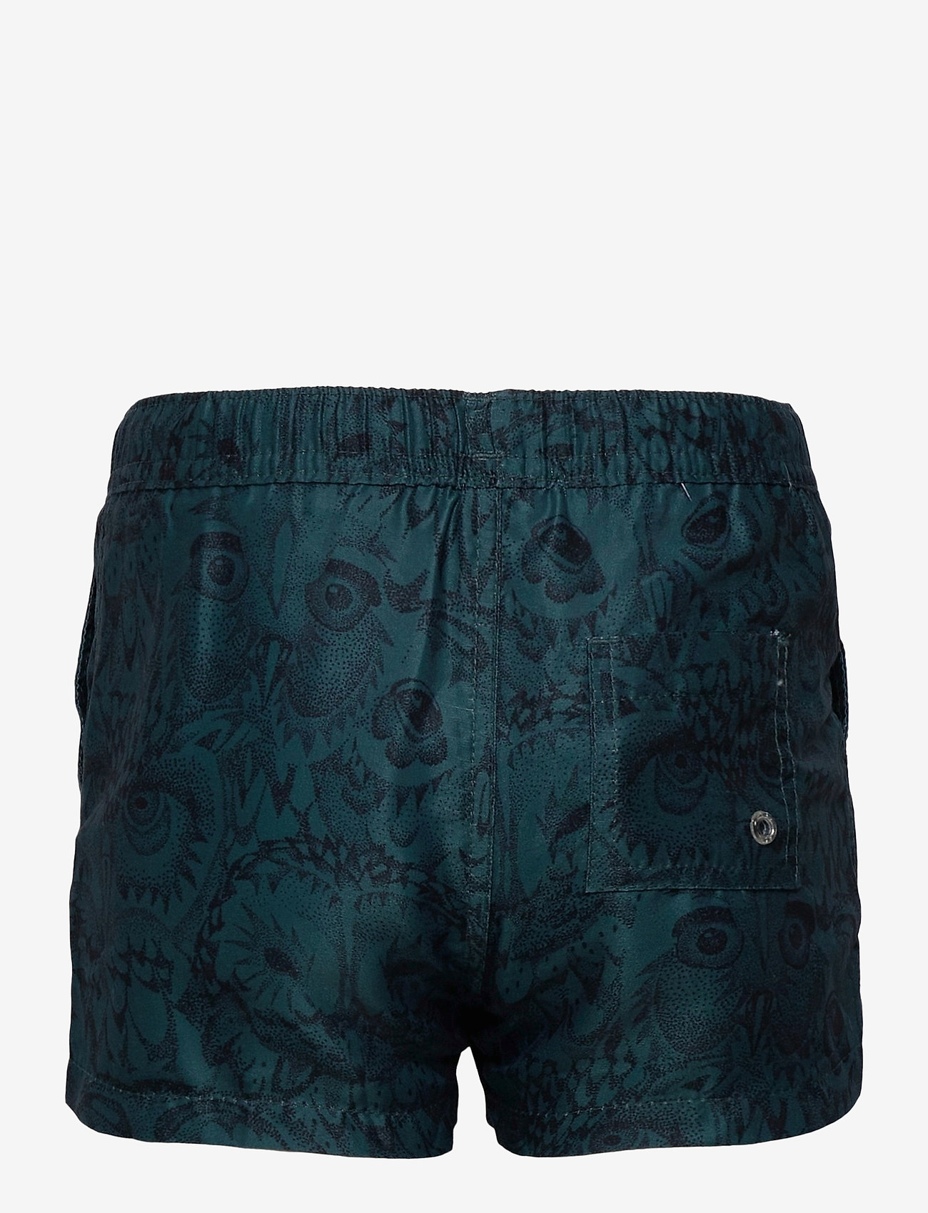 Soft Gallery - Edison Swim Pants - badehosen - orion blue, aop owl - 1