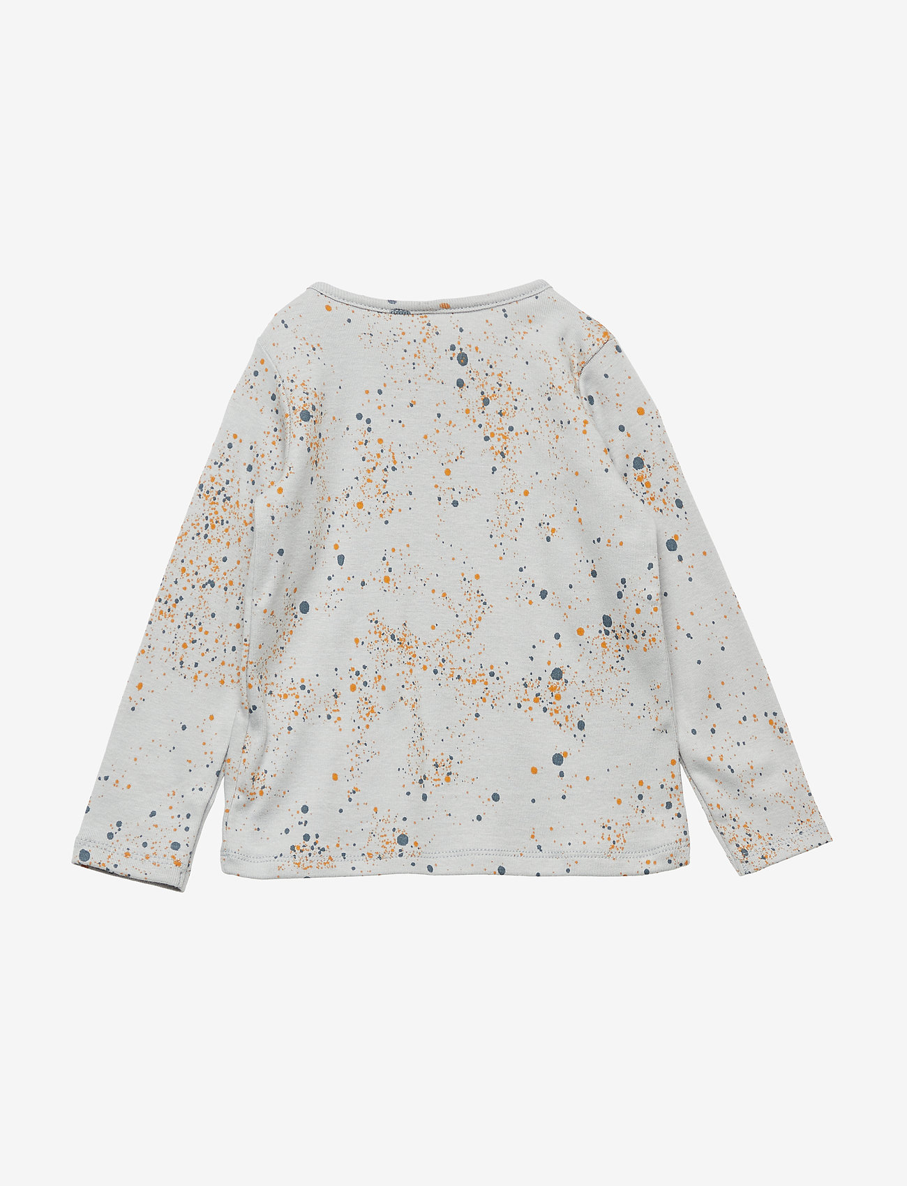 Soft Gallery - Baby Bella T-shirt - langärmelig - ocean grey, aop mini splash blue - 1