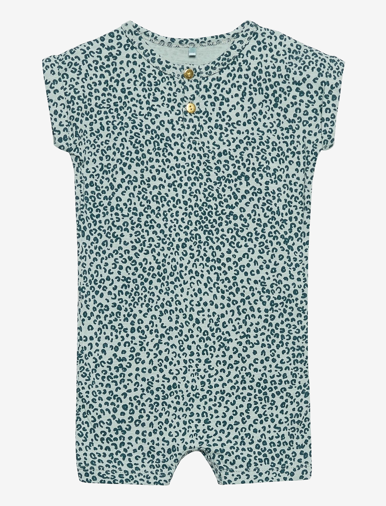 Soft Gallery - Harry Bodysuit - kurzärmelig - abyss, aop leospot - 0
