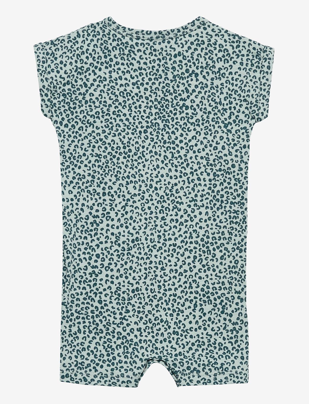 Soft Gallery - Harry Bodysuit - kurzärmelig - abyss, aop leospot - 1