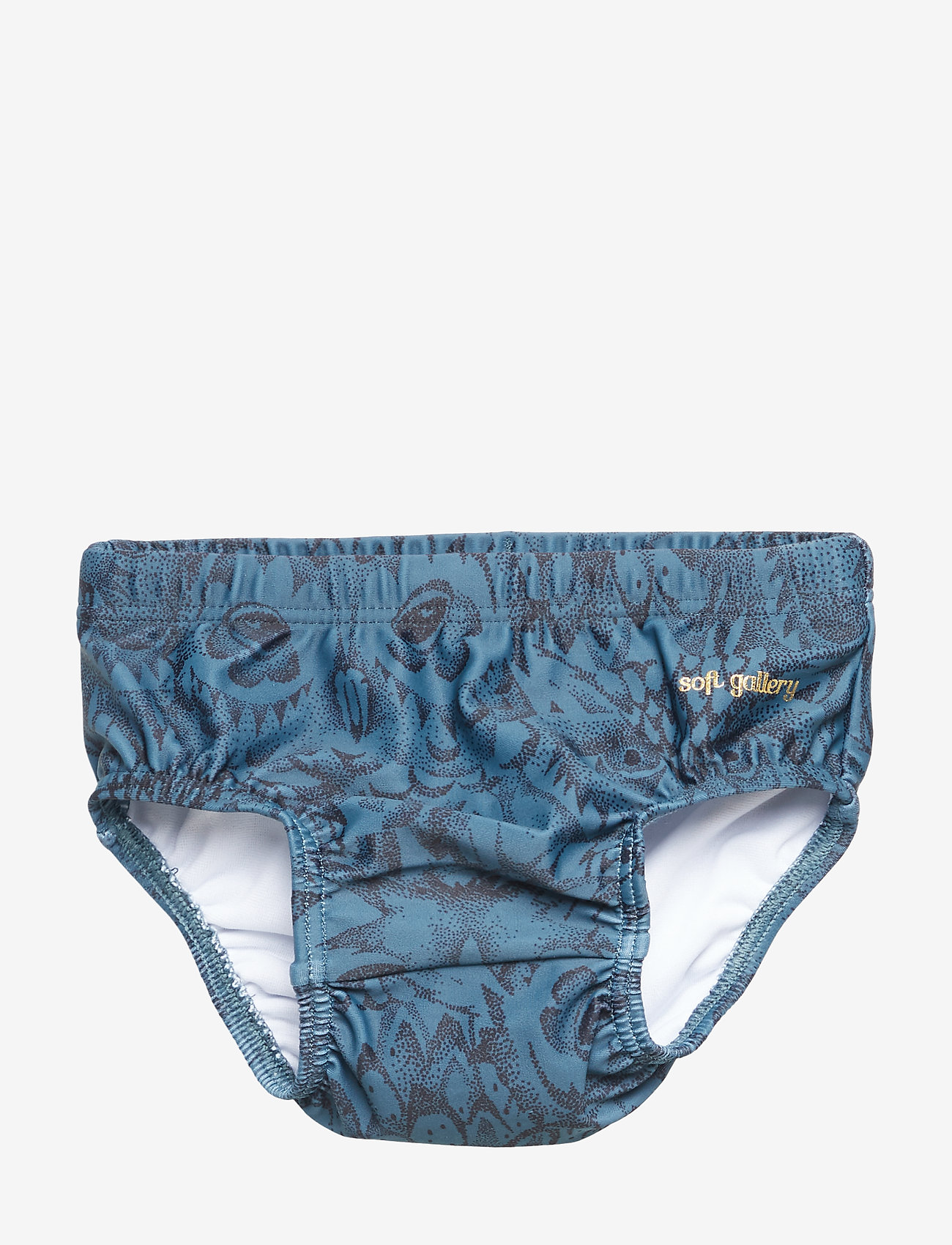 Soft Gallery - Miki Swim Pants - badehosen - orion blue, aop owl - 0