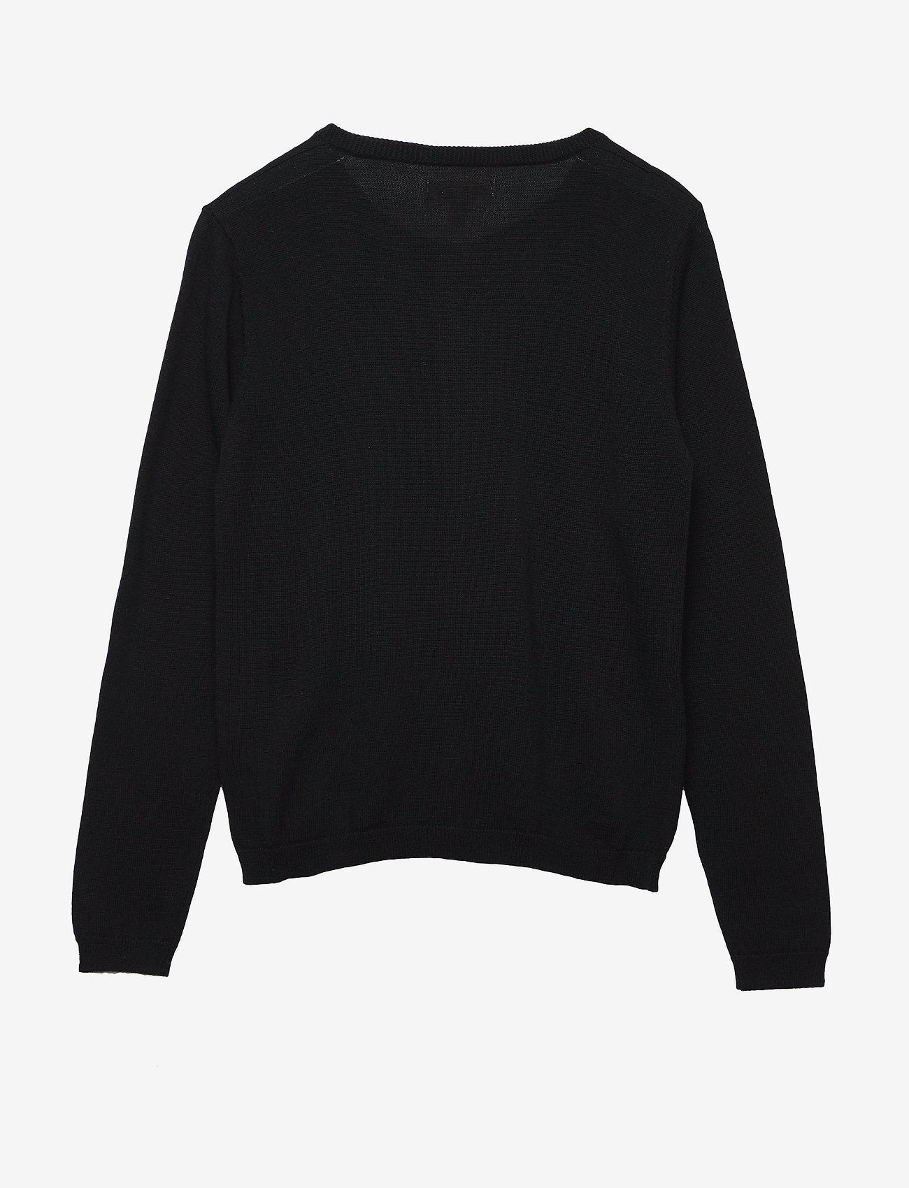Soft Gallery - Mila Cardigan - gilets - jet black, mini owl emb. - 1