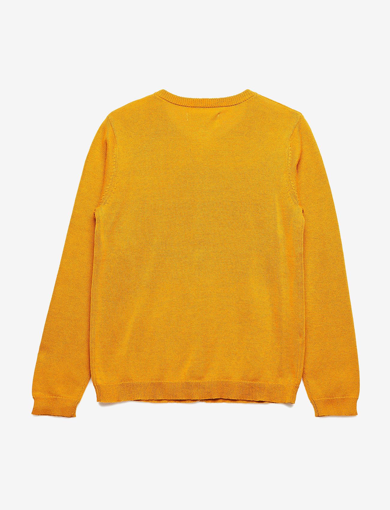 Soft Gallery - Mila Cardigan - gilets - golden glow, mini owl emb. - 1