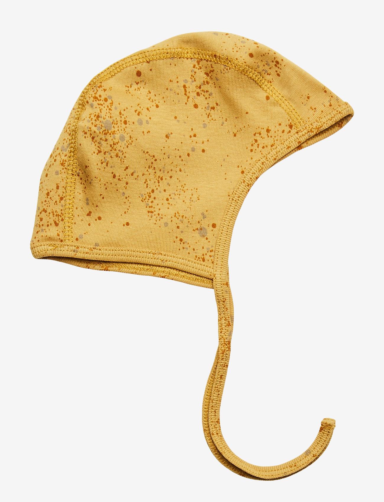 Soft Gallery - Hattie - hatte og handsker - fall leaf, aop mini splash yellow - 0