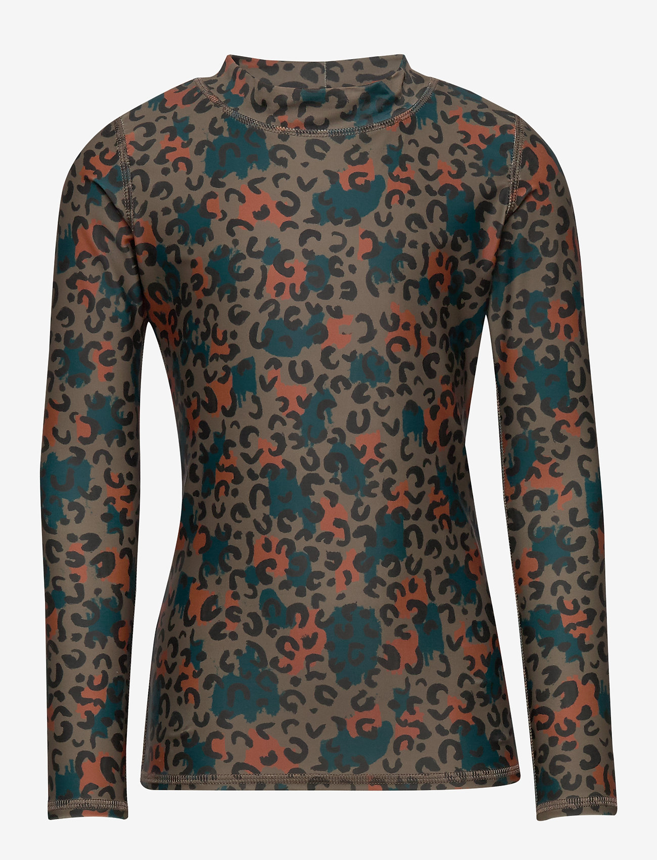 Soft Gallery - Astin Sun Shirt - koszulki - fossil, aop camoleo swim - 0