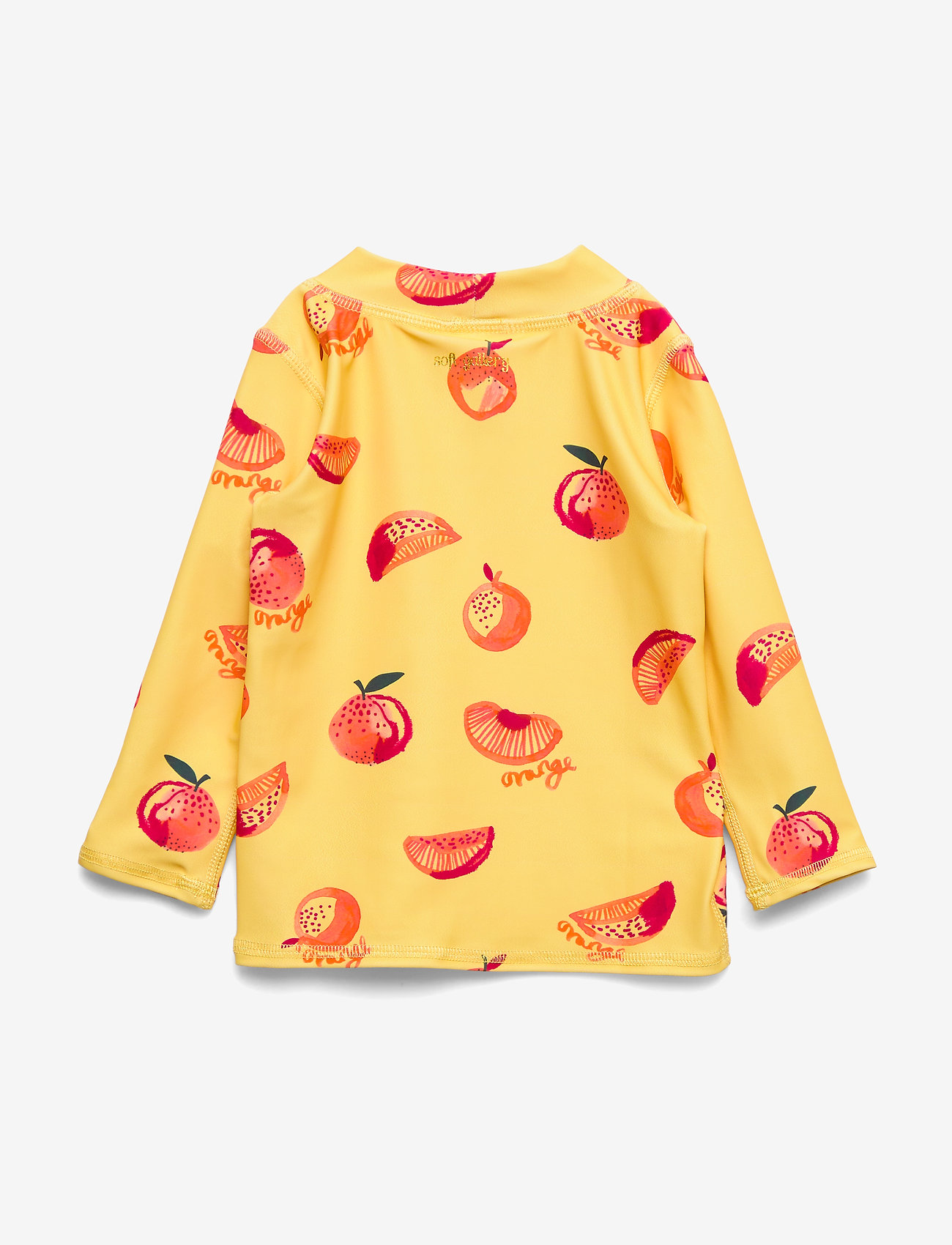 Soft Gallery - Baby Astin Sun Shirt - koszulki - jojoba, aop oranges - 1