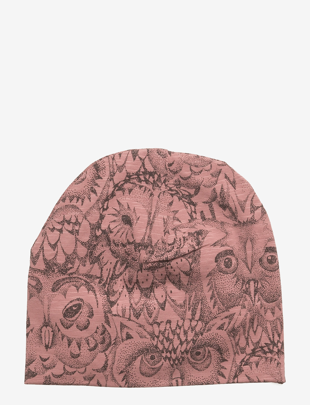 Soft Gallery - Beanie - huer - burlwood, aop owl - 1