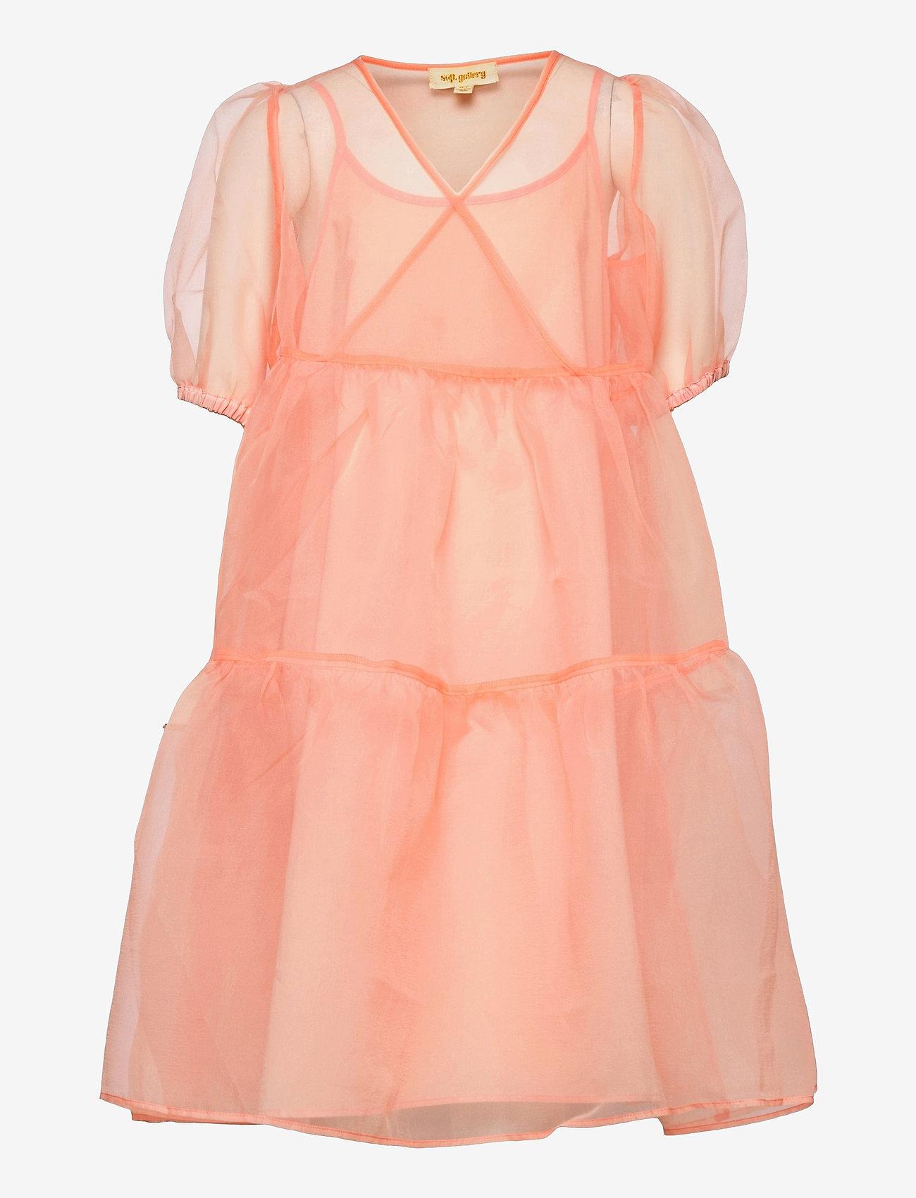 Soft Gallery - Heya Dress - kleider - tropical peach - 0