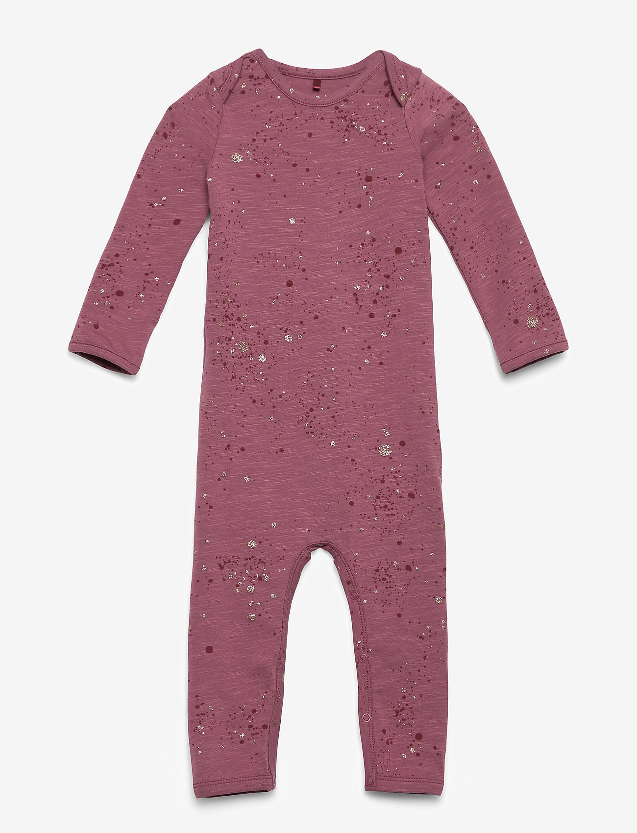 Soft Gallery - Ben Bodysuit Mini Splash - langärmelig - renaissance rose - 0