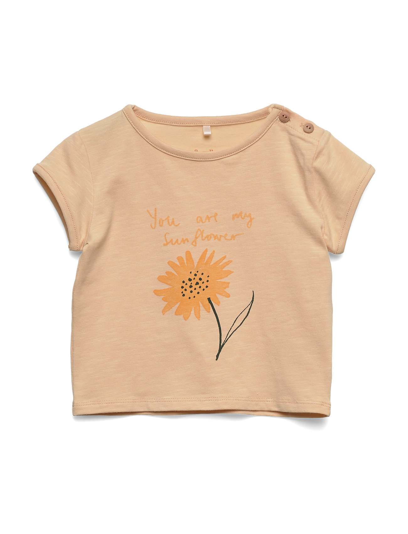 Soft Gallery Nelly T-shirt - WINTER WHEAT, SUNNY
