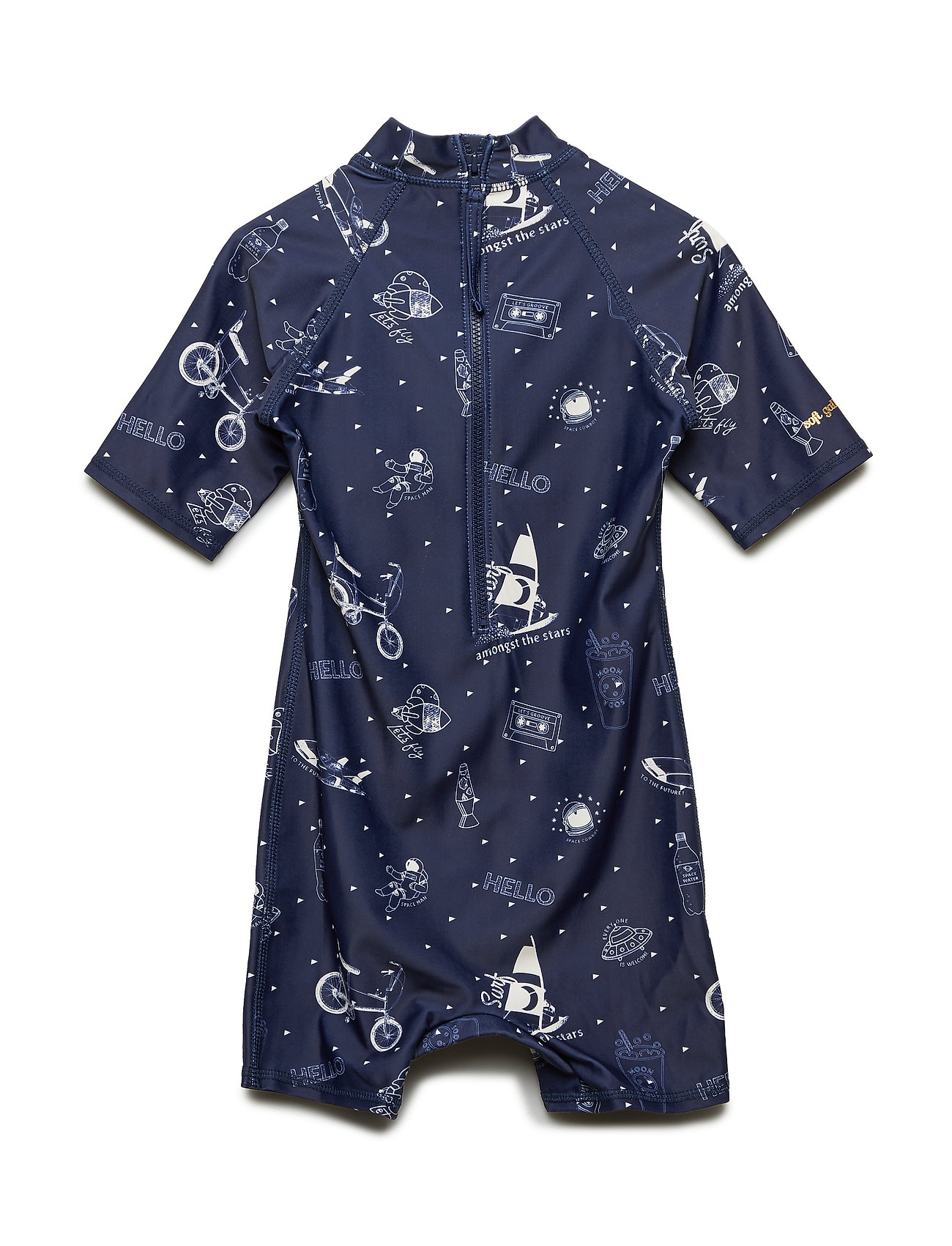 Soft Gallery Rey Sunsuit - DRESS BLUES, AOP STARSURFER SWIM