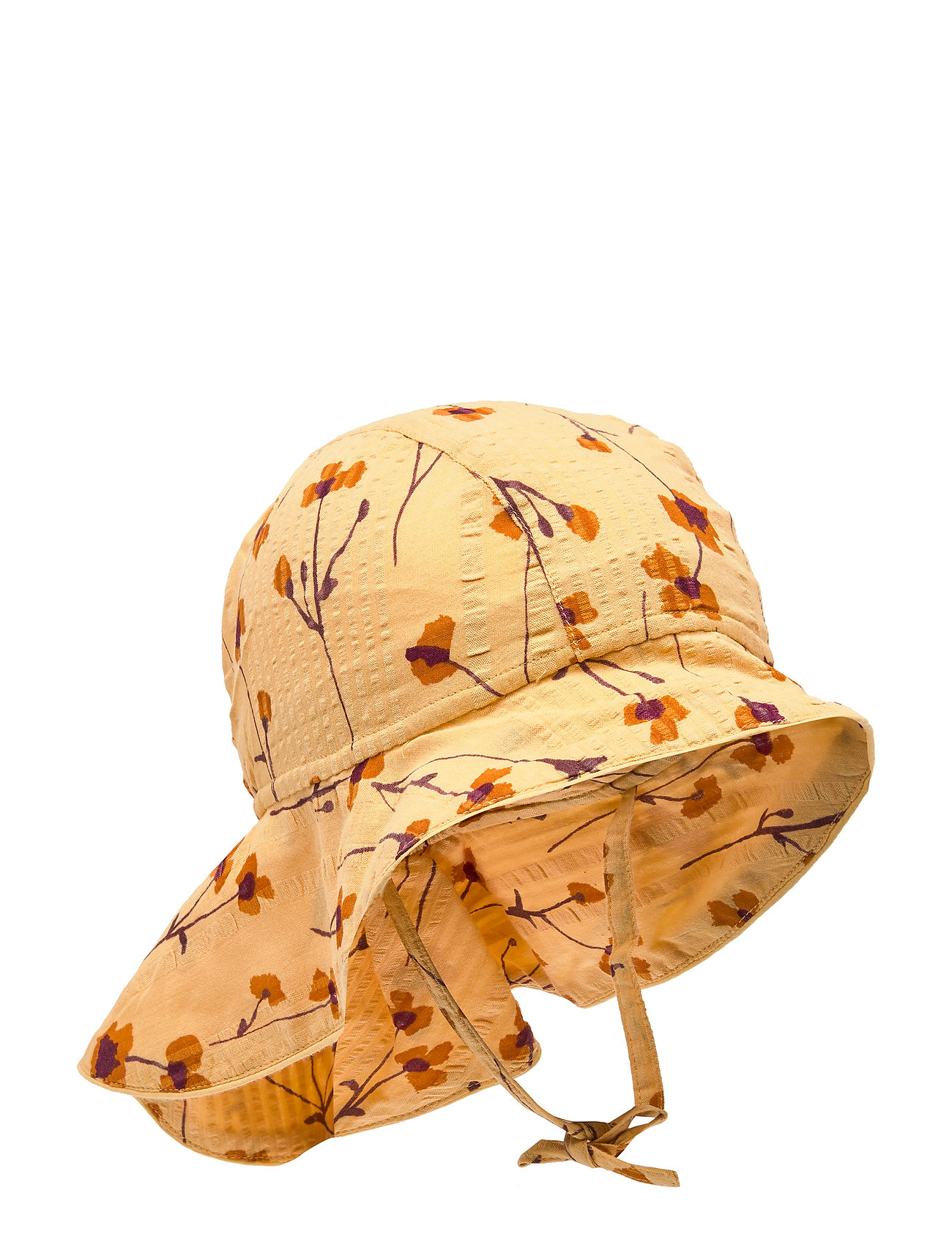 Soft Gallery Val Hat - GOLDEN APRICOT, AOP BUTTERCUP