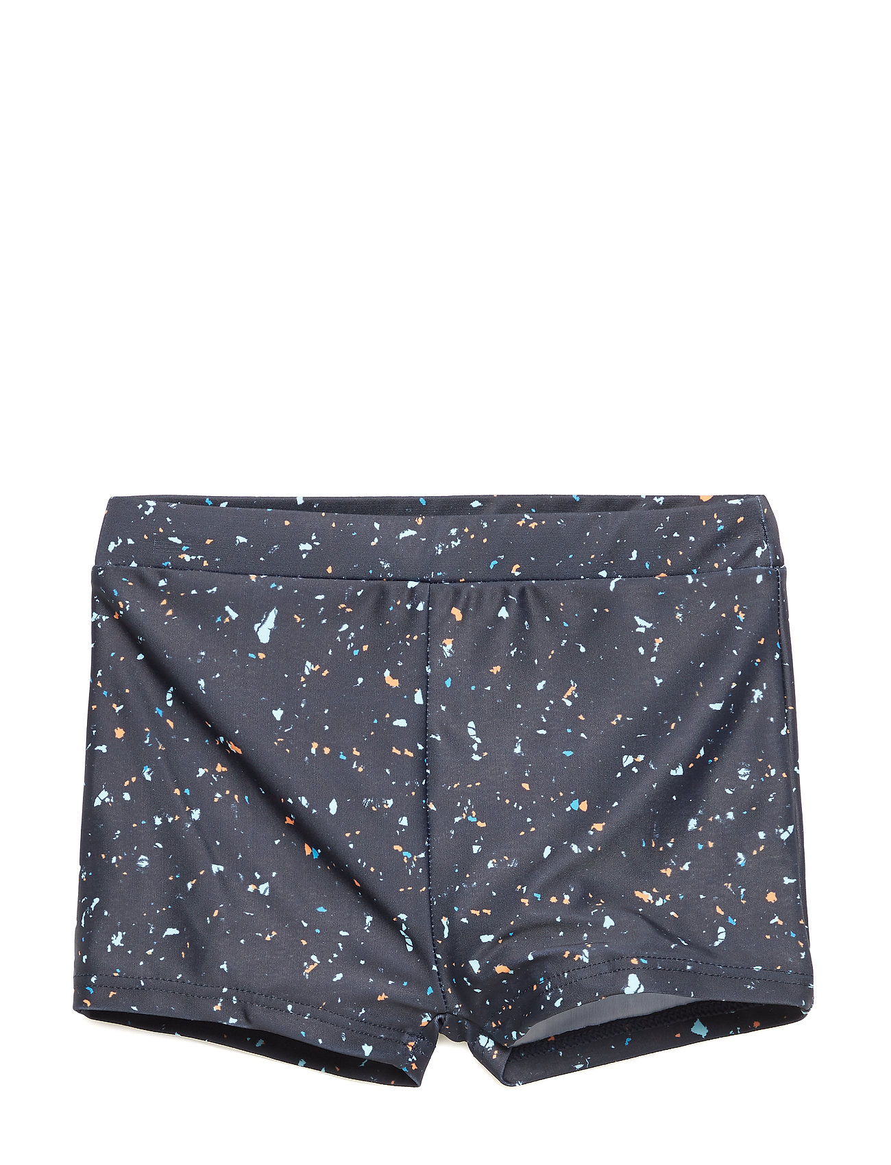 Soft Gallery Don Swim Trunk - INDIA INK, AOP FLAKES MIX