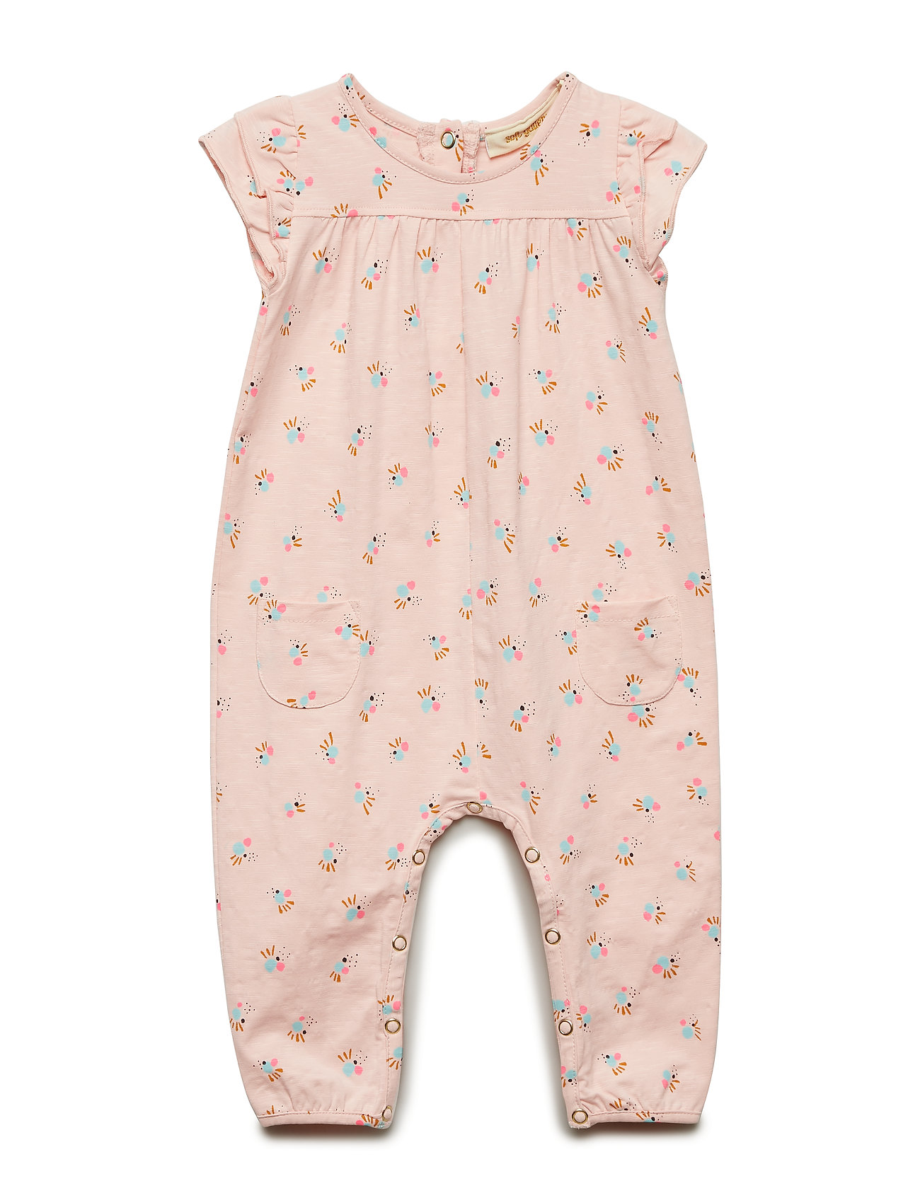 Soft Gallery Abigail Jumpsuit - CHINTZ ROSE, AOP COCKATOO