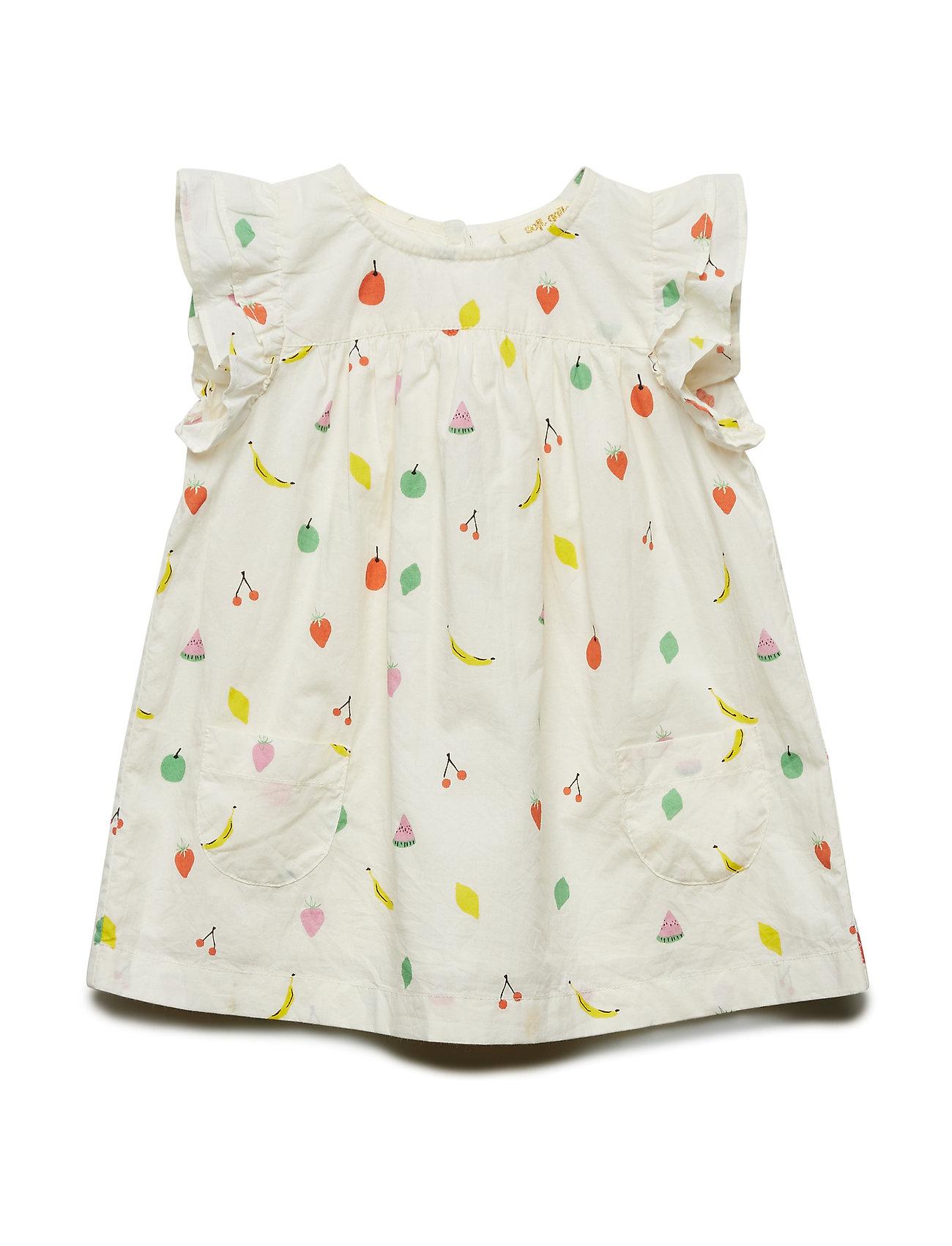 Soft Gallery Bebe Dress - PRISTINE, AOP FRUITY