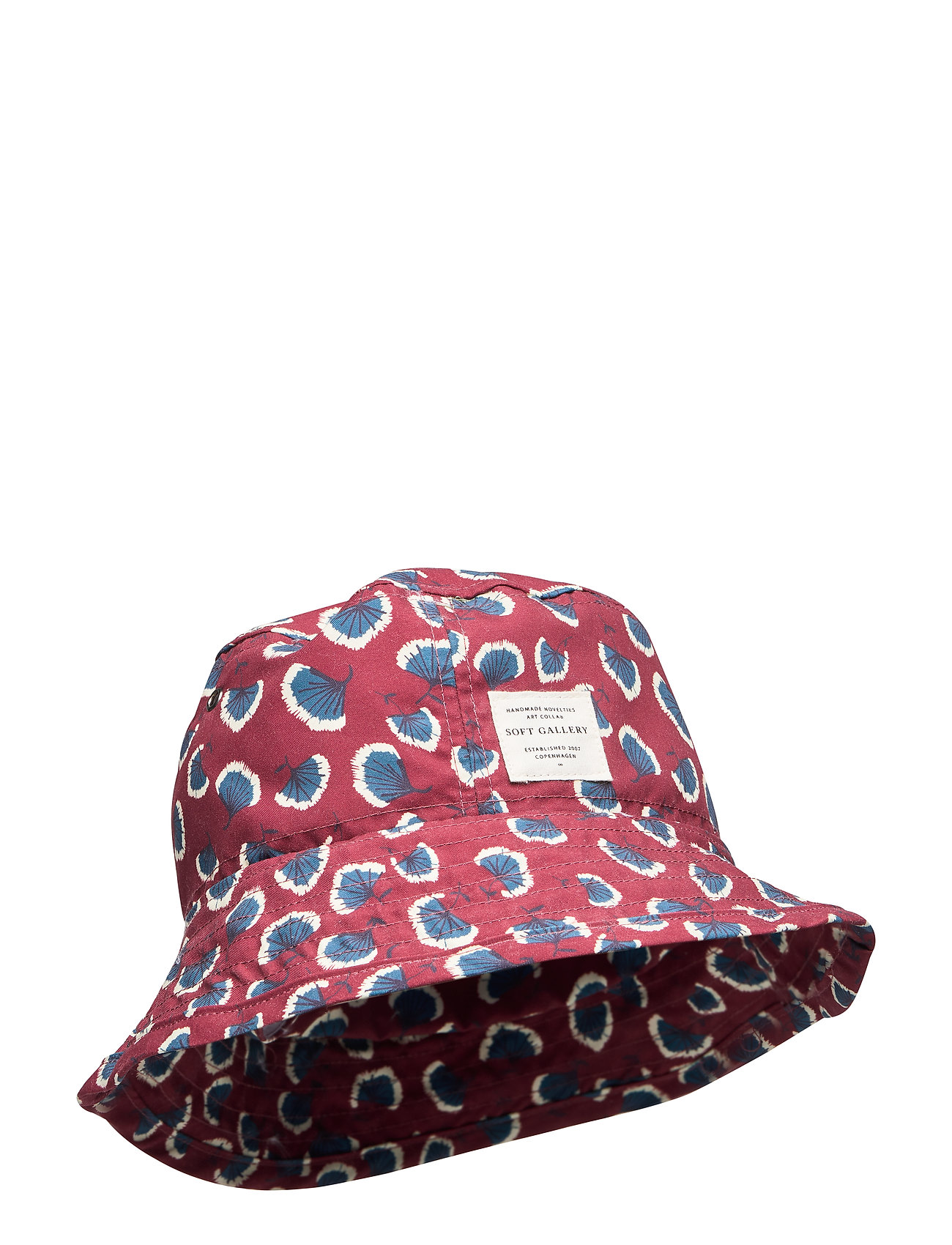 Soft Gallery Camden Hat - RUSSET BROWN, AOP CORAL