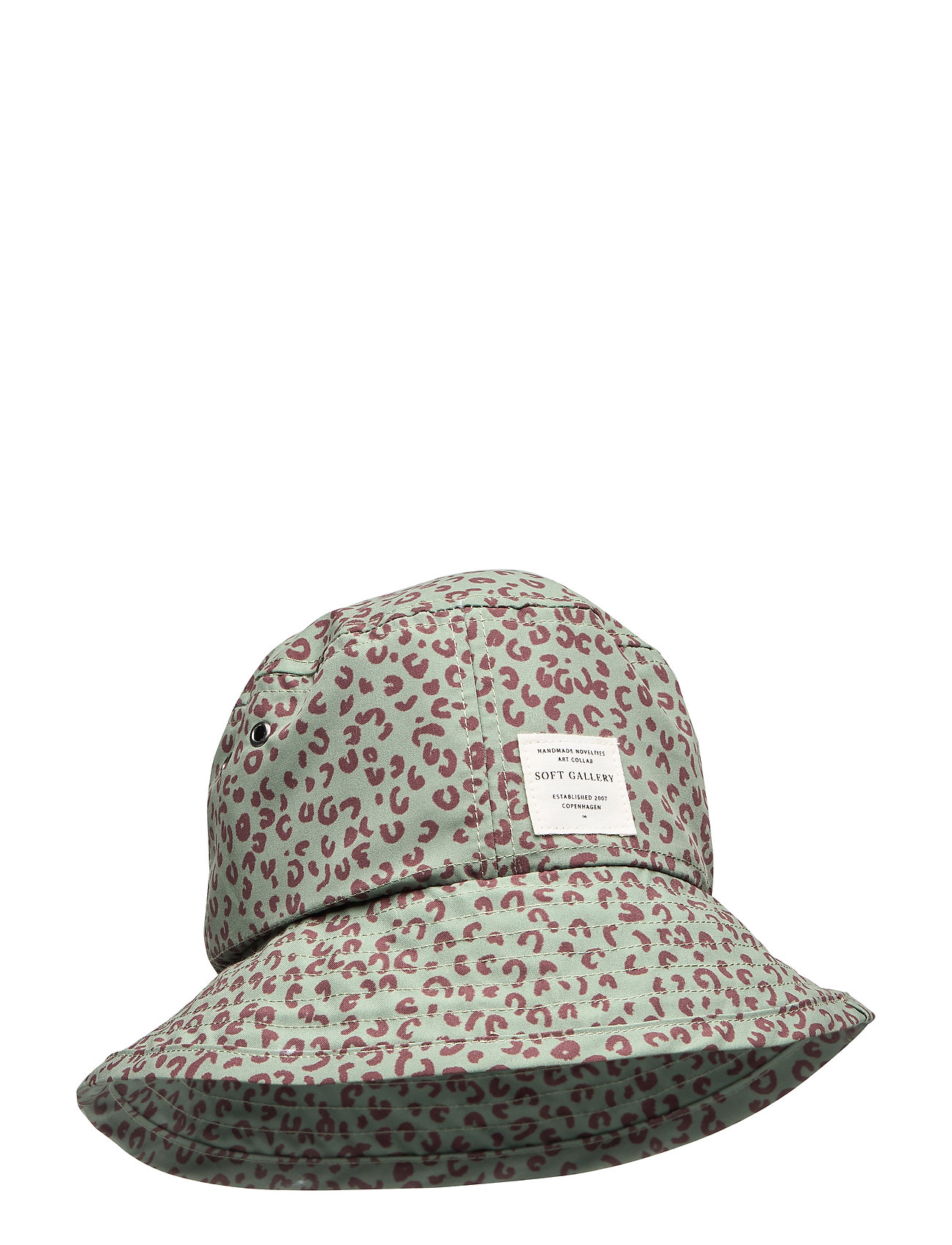 Soft Gallery Camden Hat - OIL GREEN, AOP LEOSPOT