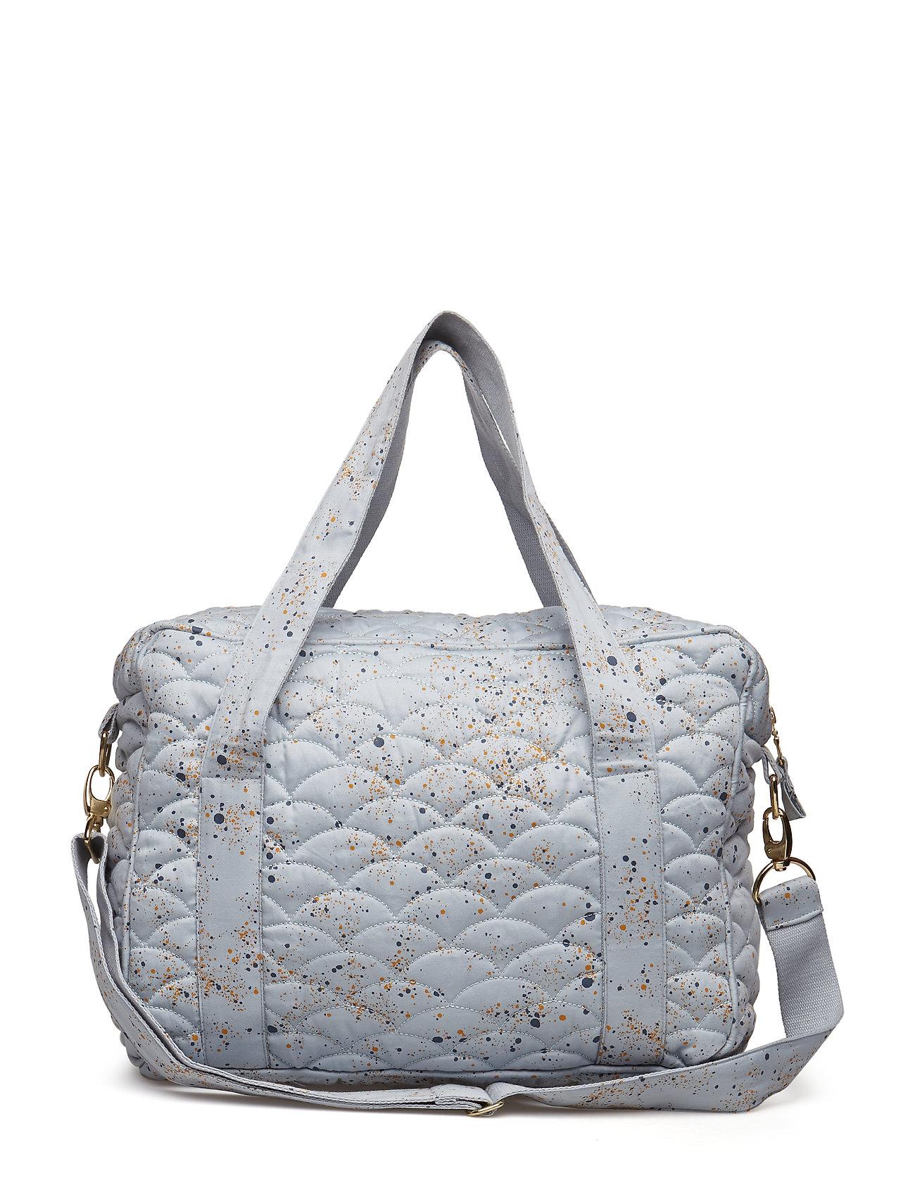 Soft Gallery Nursery Bag - OCEAN GREY, AOP MINI SPLASH BLUE