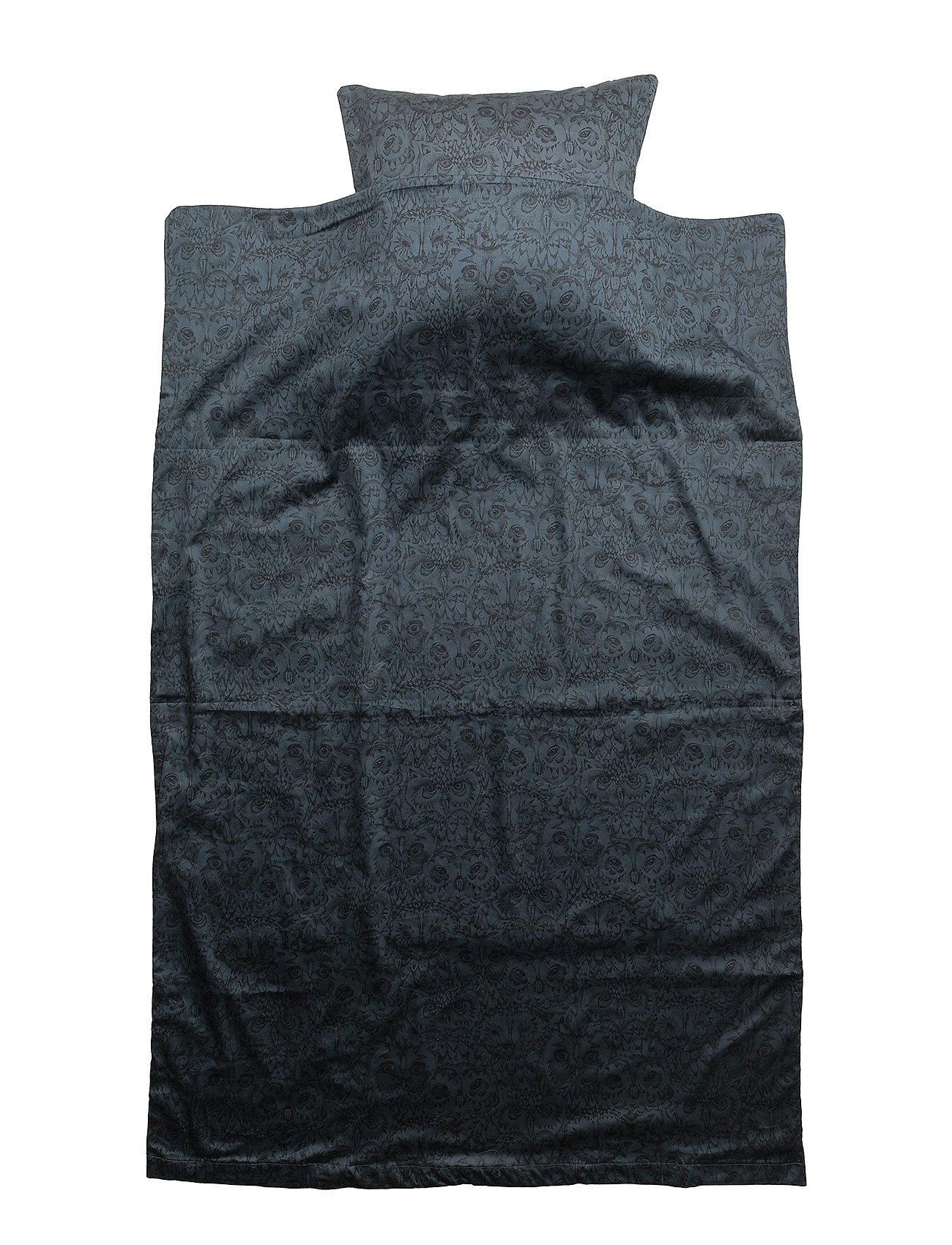 Soft Gallery Bed Linen Junior - ORION BLUE, AOP OWL