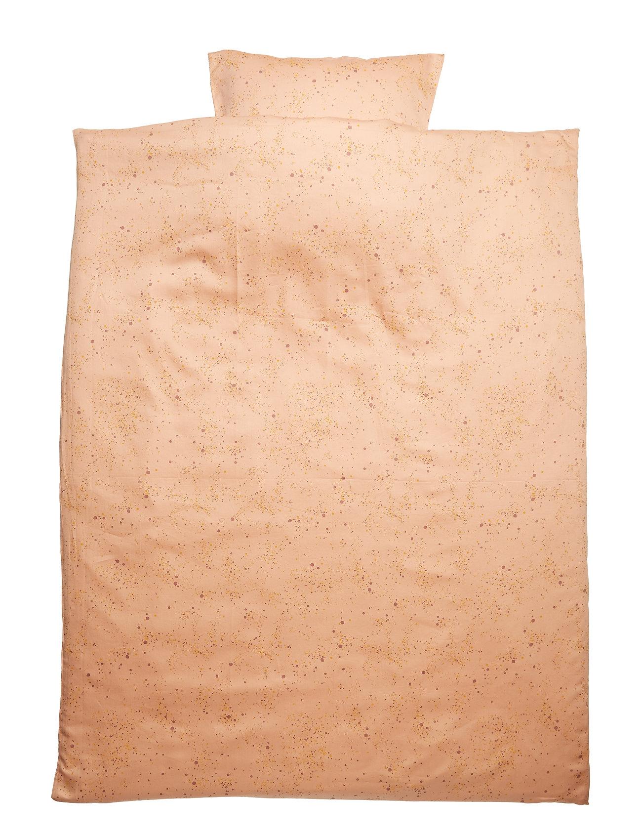 Soft Gallery Bed Linen Junior - PEACH PERFECT, AOP MINI SPLASH ROSE