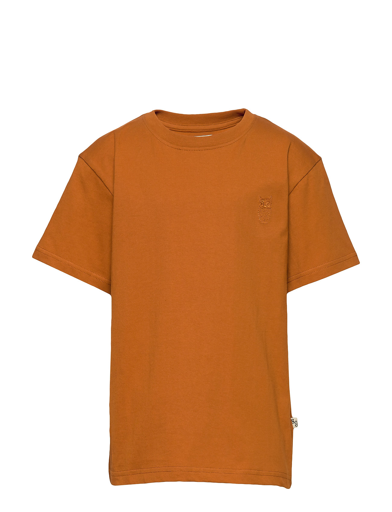 Soft Gallery Asger T-Shirt T-shirts Short-sleeved Orange Soft Gallery