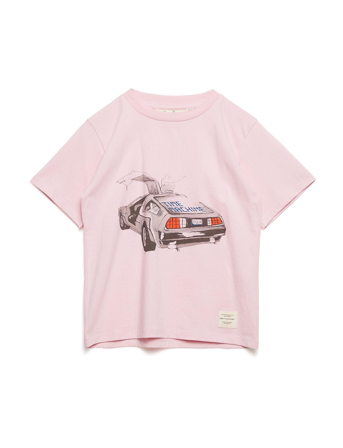 Soft Gallery Asger T-shirt - PARFAIT PINK, DELOREAN