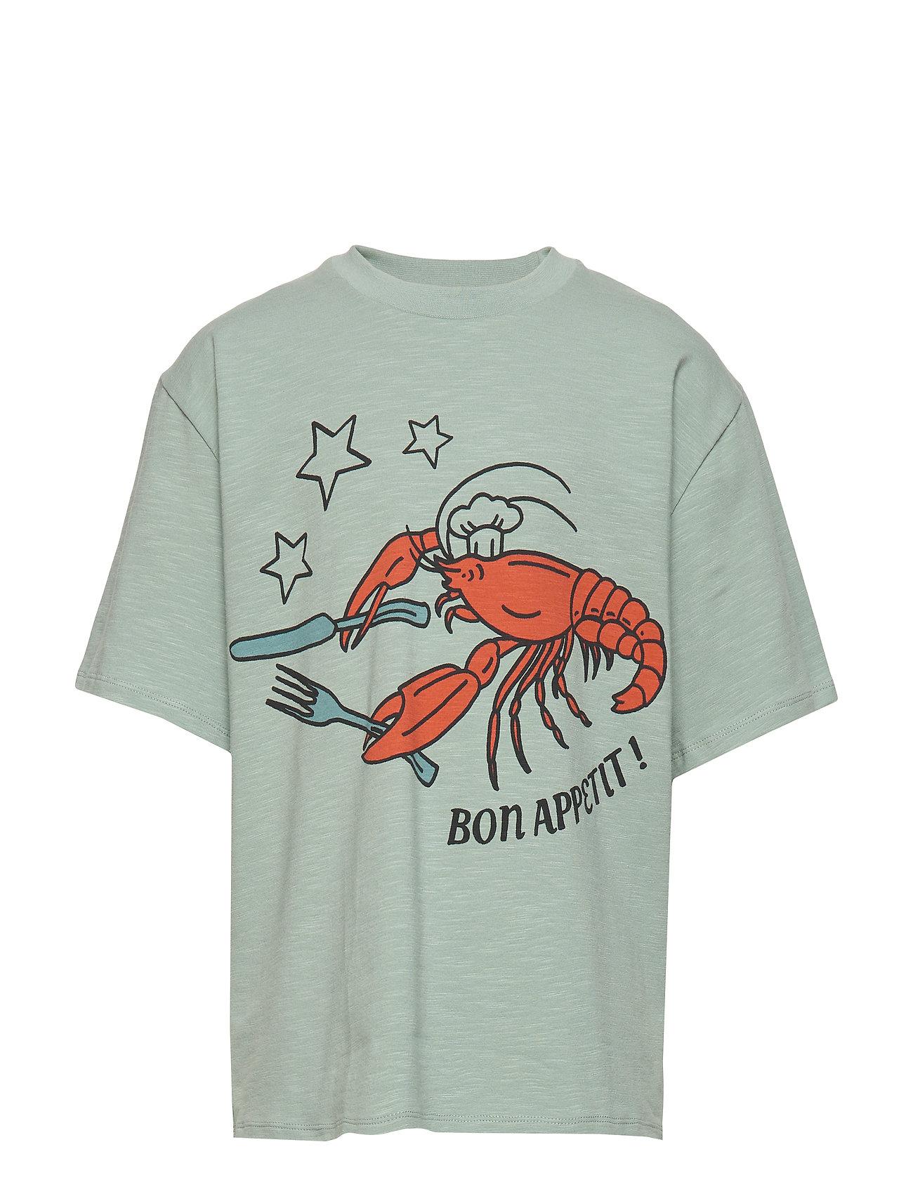 Soft Gallery Asger T-shirt - JADEITE, BON APPETIT