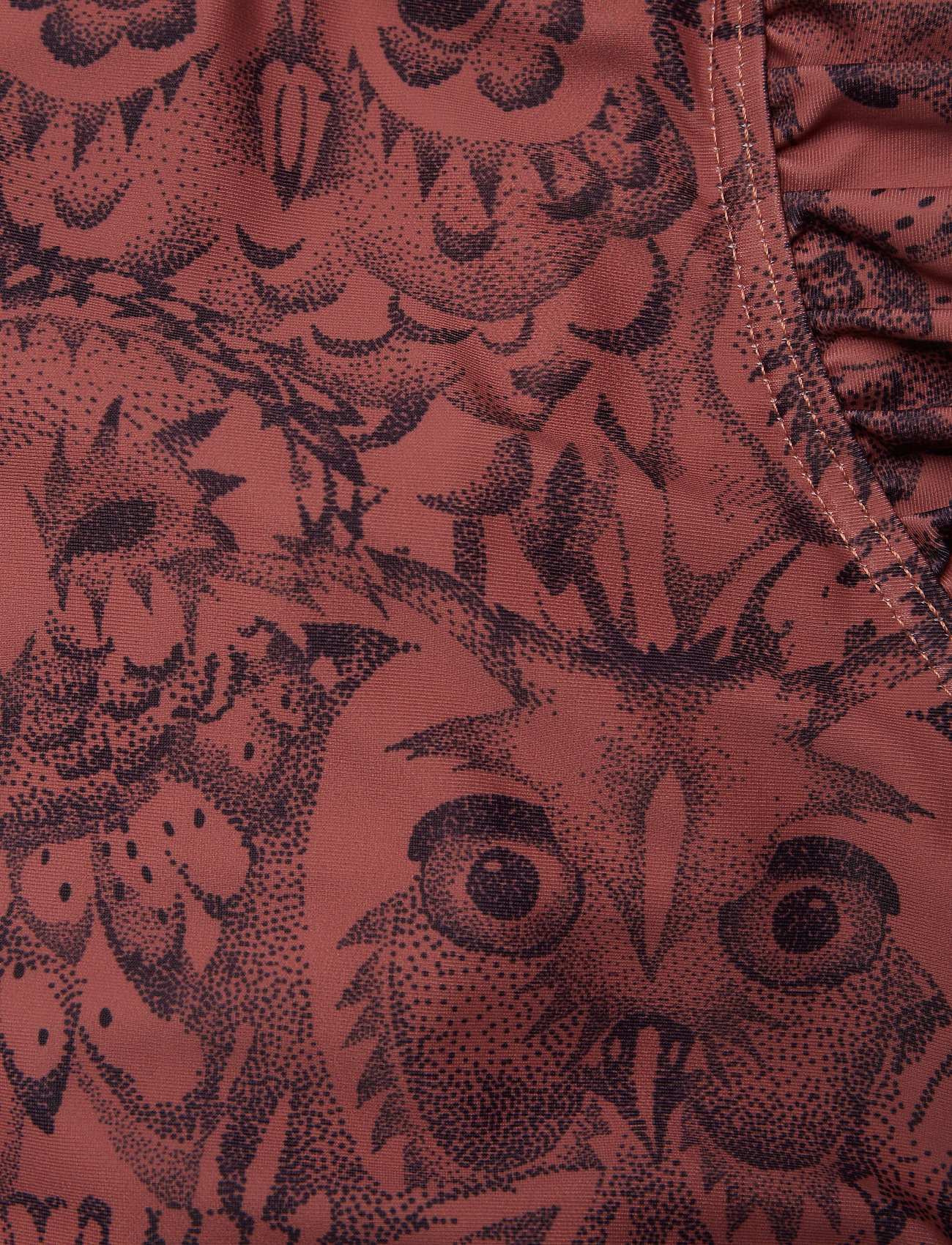 Soft Gallery - Baby Ana Swimsuit - swimsuits - burlwood, aop owl - 1