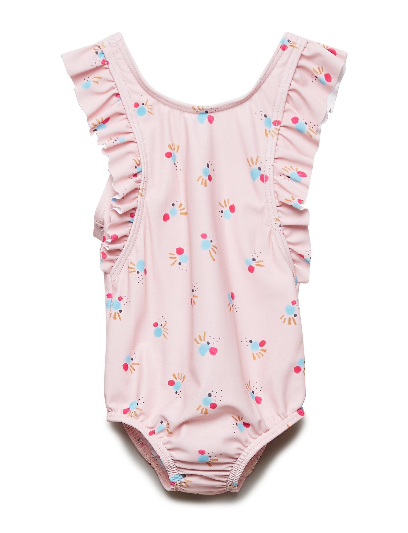 Soft Gallery Baby Ana Swimsuit - CHINTZ ROSE, AOP COCKATOO SWIM