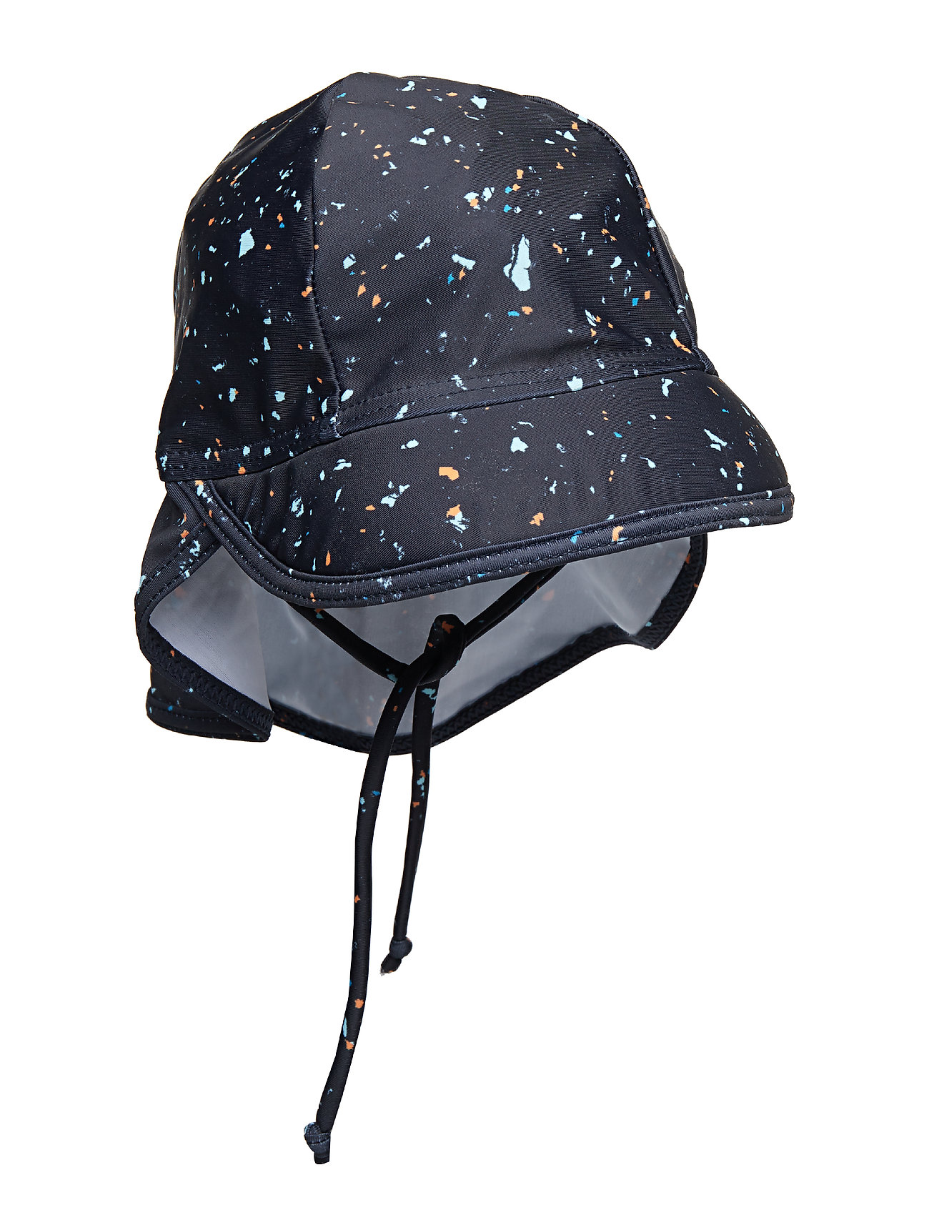Soft Gallery Alex Sun Hat - INDIA INK, AOP FLAKES MIX