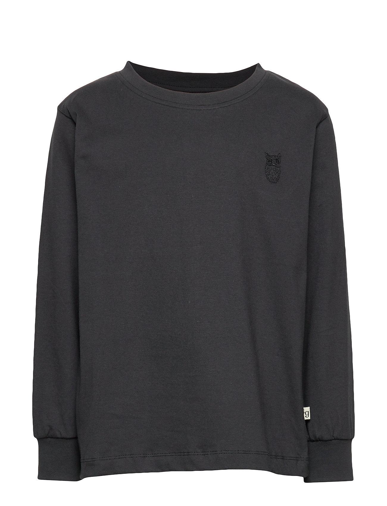 Soft Gallery Benson T-shirt - PHANTOM, MINI OWL EMB.