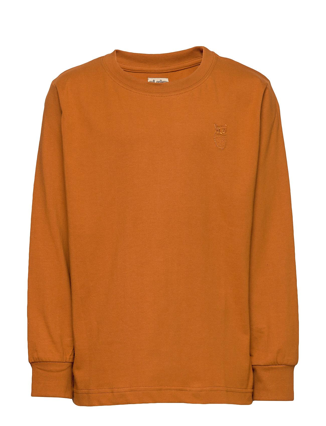 Soft Gallery Benson T-shirt - PUMPKIN SPICE, MINI OWL EMB.
