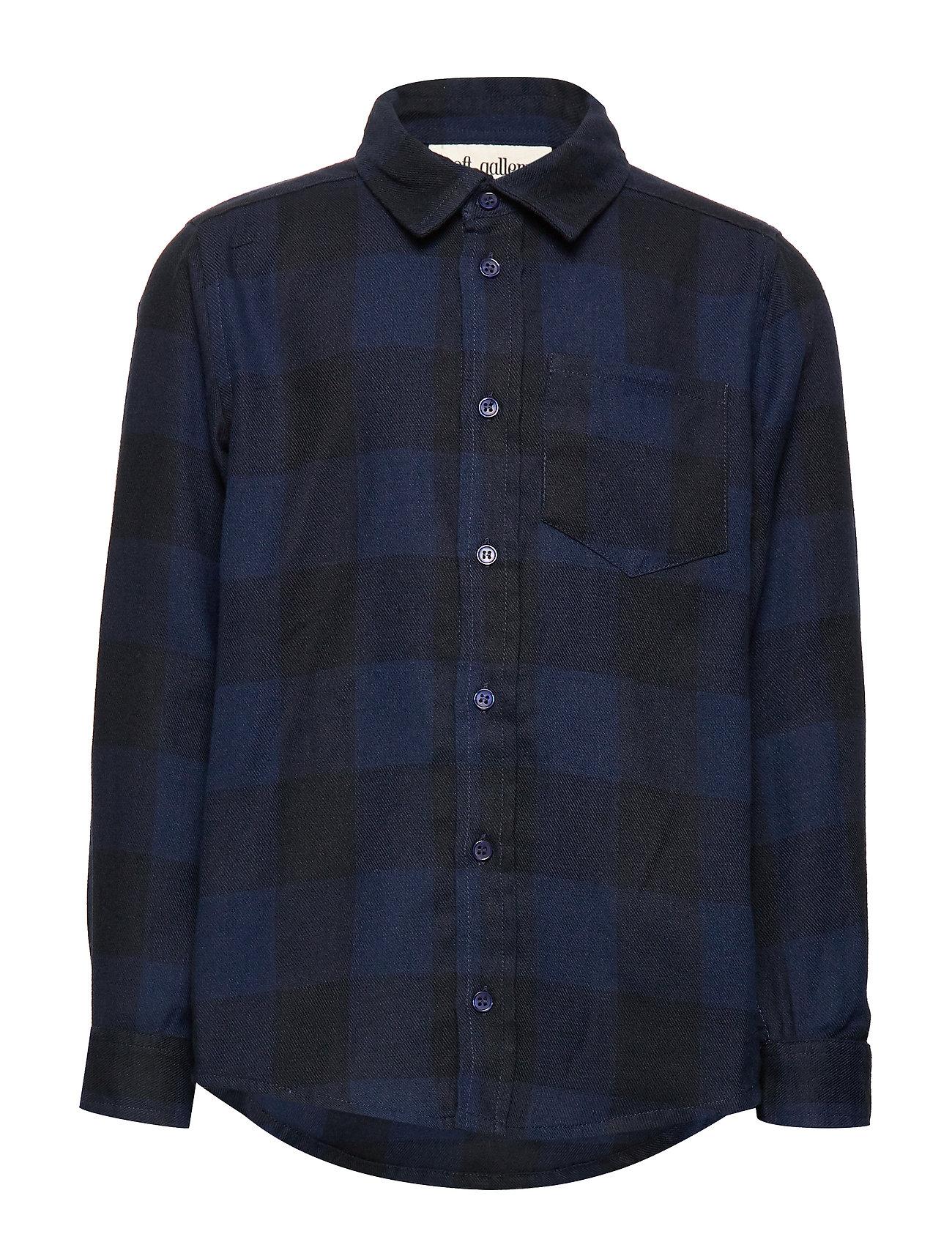Soft Gallery Bentley Shirt - DRESS BLUES OVERDYE