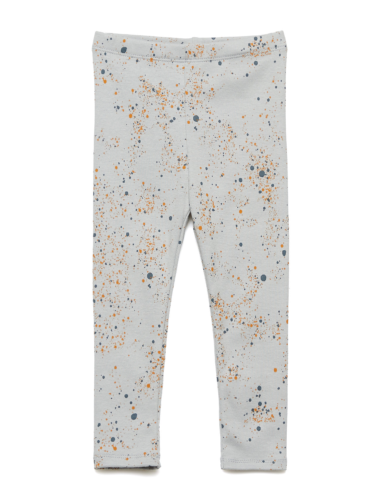 Soft Gallery Paula Baby Leggings - OCEAN GREY, AOP MINI SPLASH BLUE