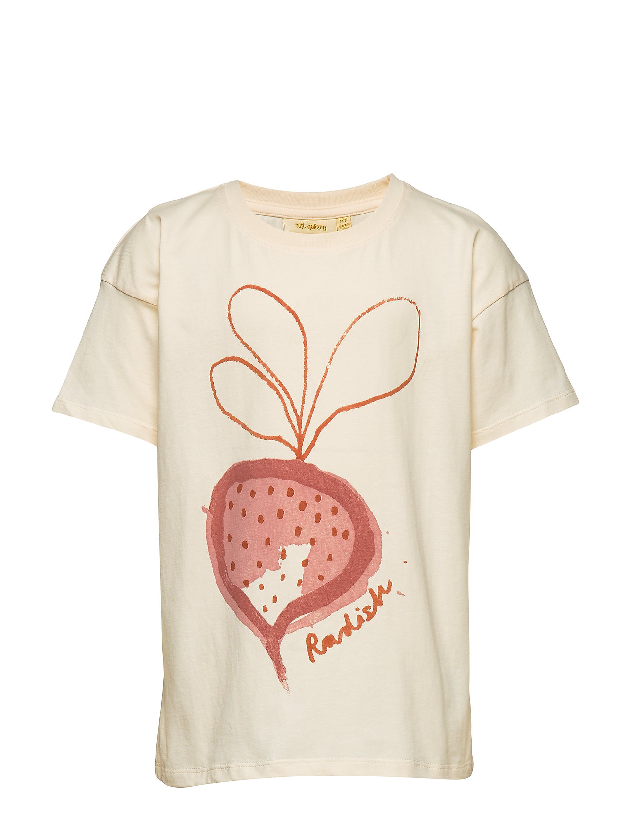 Soft Gallery Dharma T-shirt - GARDENIA, RADISH