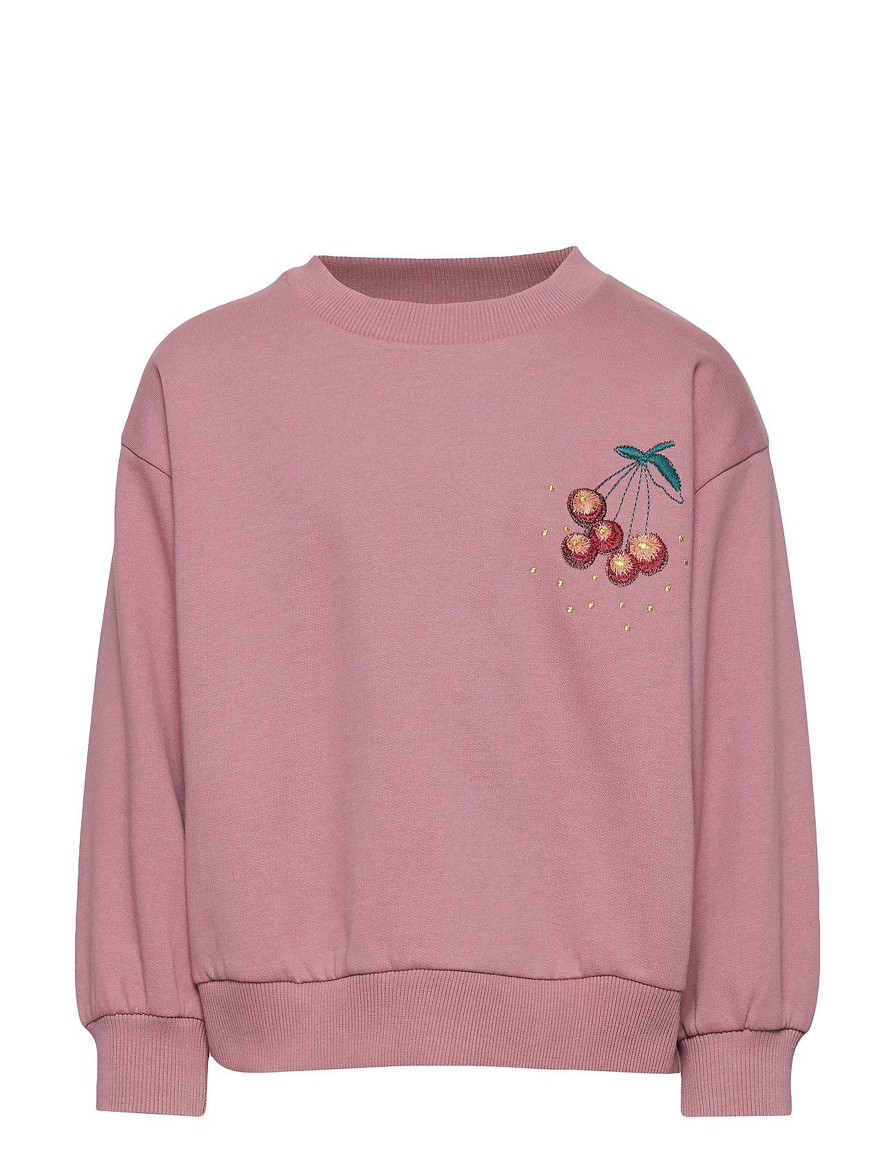 Soft Gallery Drew Sweatshirt - NOSTALGIA ROSE, BERRIES EMB.