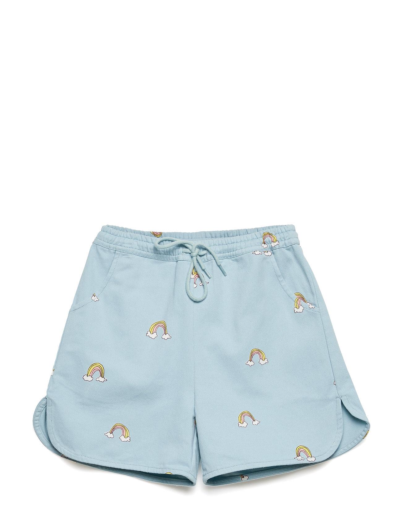 Soft Gallery Devy Shorts - CLOUD BLUE, AOP LUCKY SIMPLE