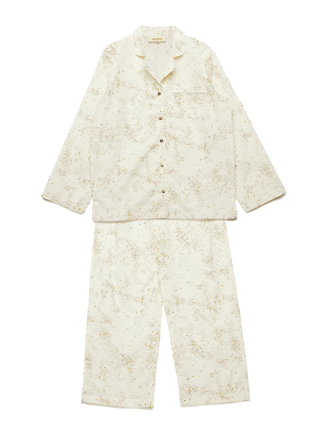 Soft Gallery Pajama - FLUFFY SKY, AOP MINI SPLASH CREAM
