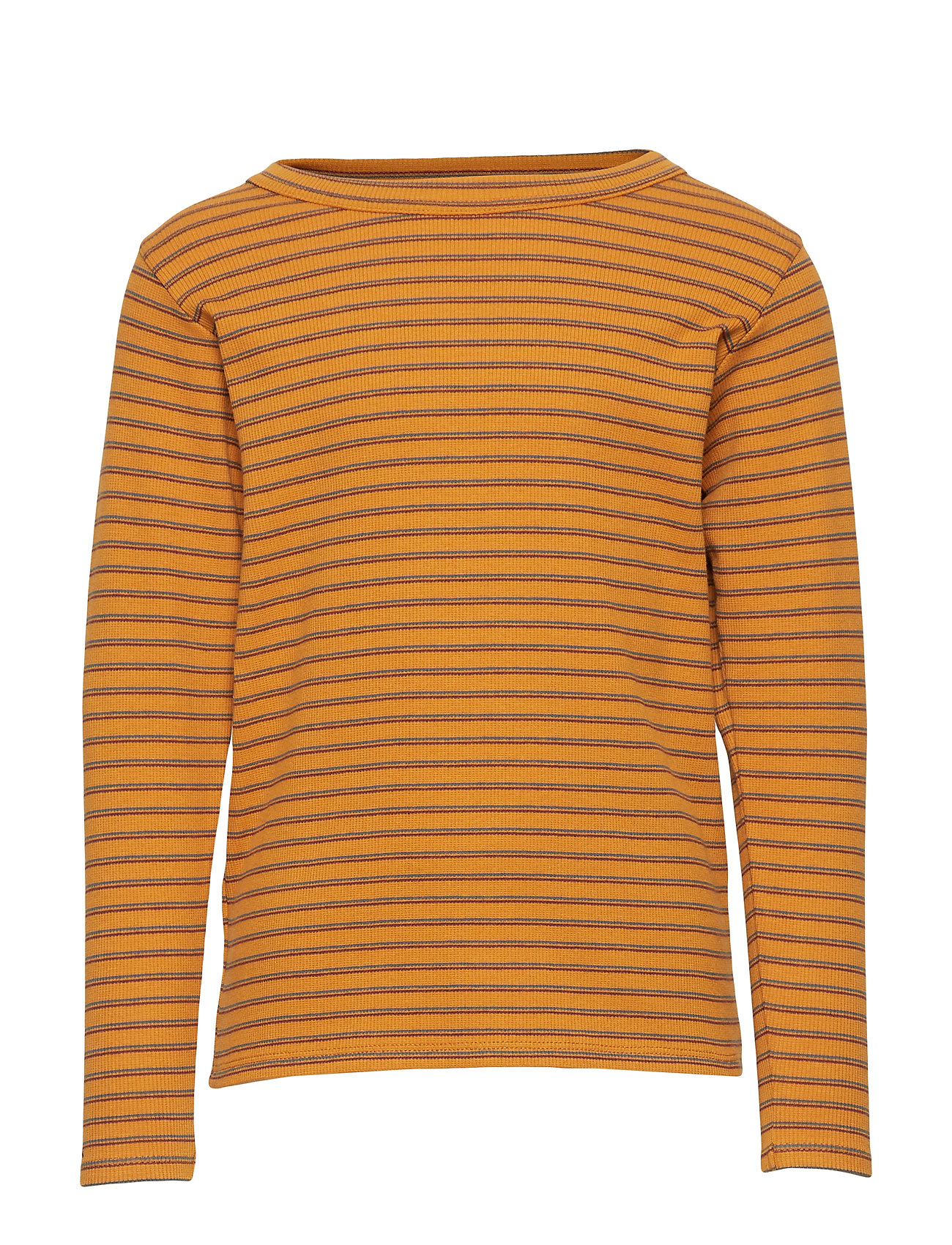 Soft Gallery Emmanuel T-shirt - INCA GOLD, AOP DOUBLE RIBBON