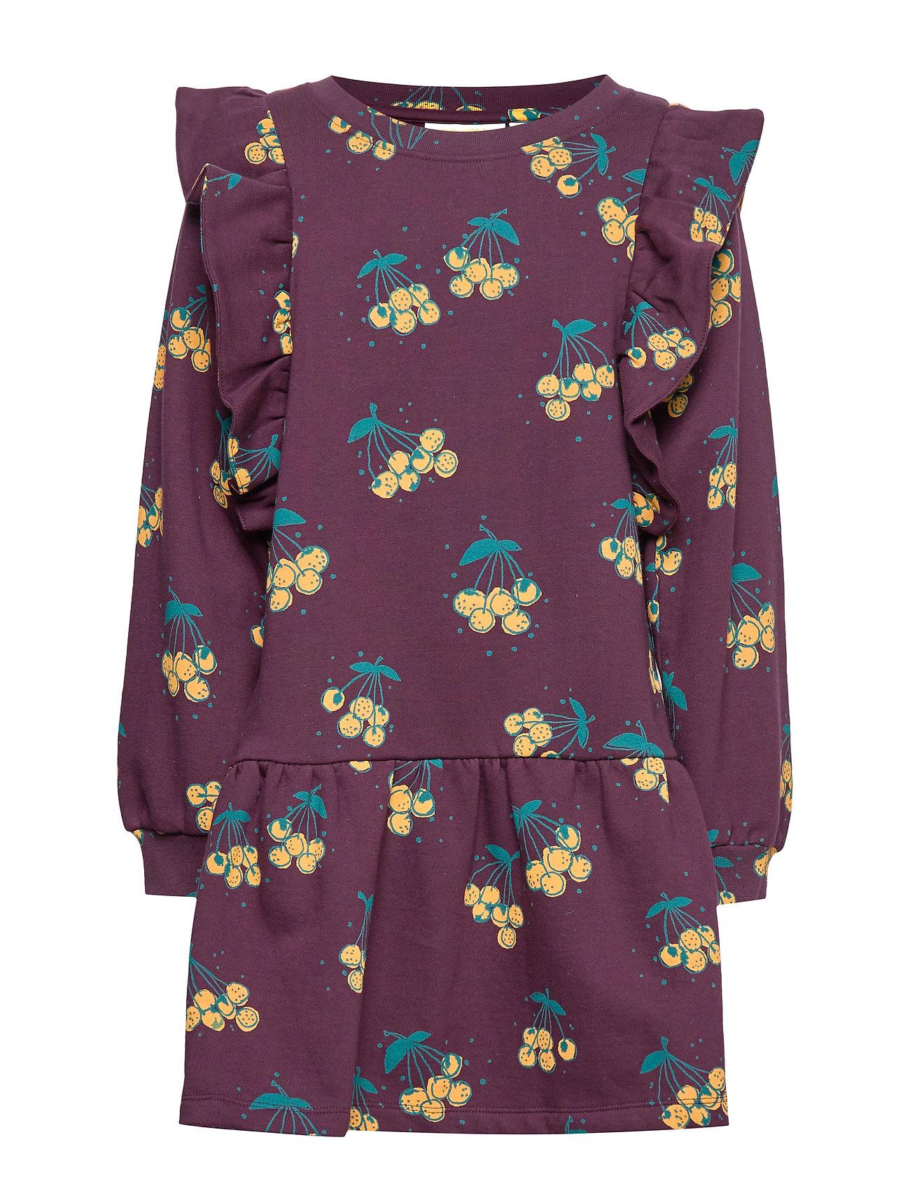 Soft Gallery Esmeralda Dress - WINETASTING, AOP BERRIES