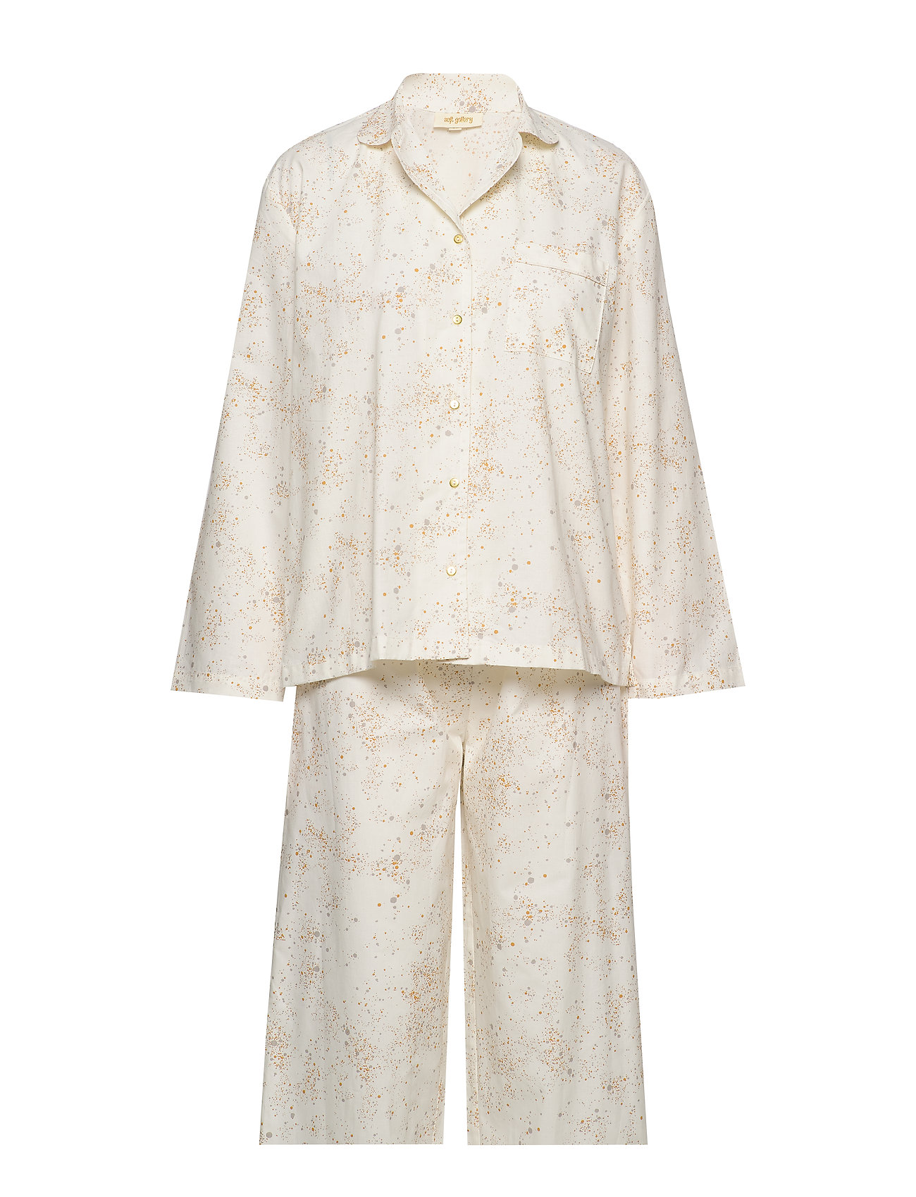 Soft Gallery Pajama Woman - FLUFFY SKY, AOP MINI SPLASH CREAM