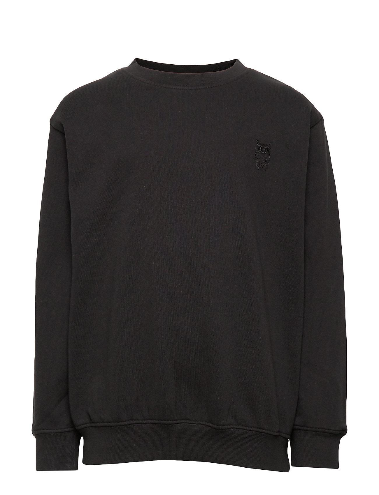 Soft Gallery Walker Sweatshirt - PHANTOM, MINI OWL EMB.