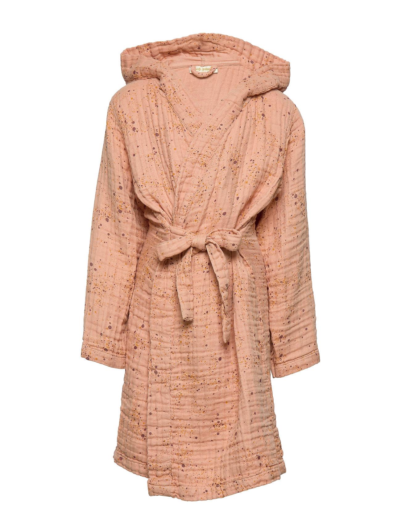 Soft Gallery Robe - PEACH PERFECT, AOP MINI SPLASH ROSE