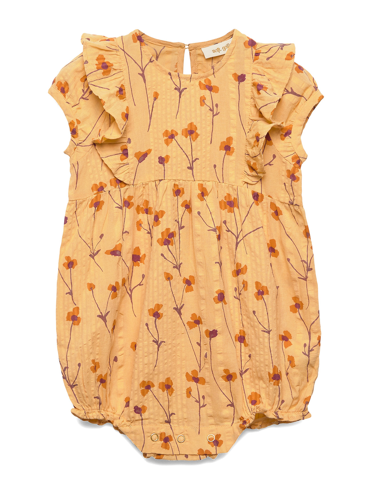 Soft Gallery Flanna Jumpsuit - GOLDEN APRICOT, AOP BUTTERCUP