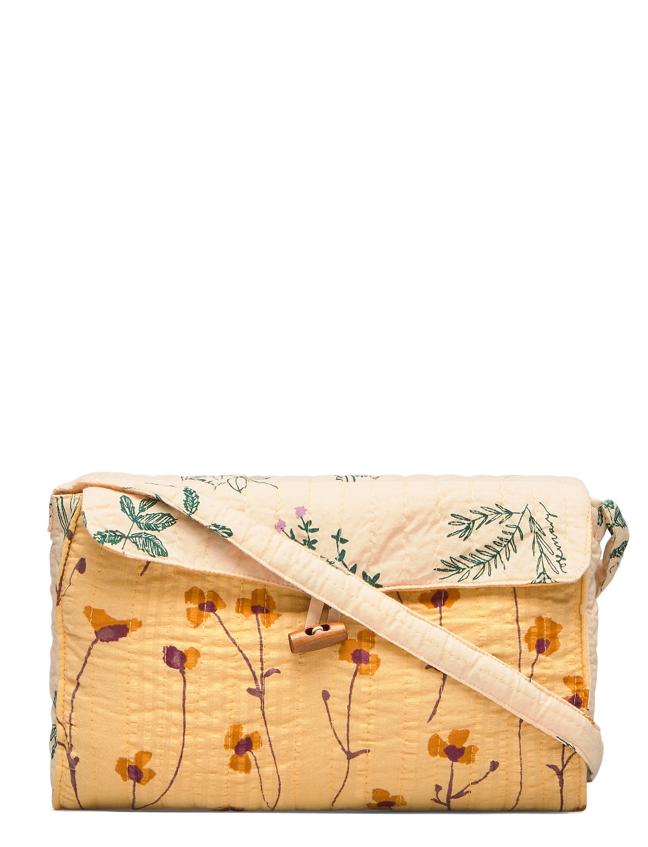 Soft Gallery Patchwork Bag - GOLDEN APRICOT, AOP BUTTERCUP
