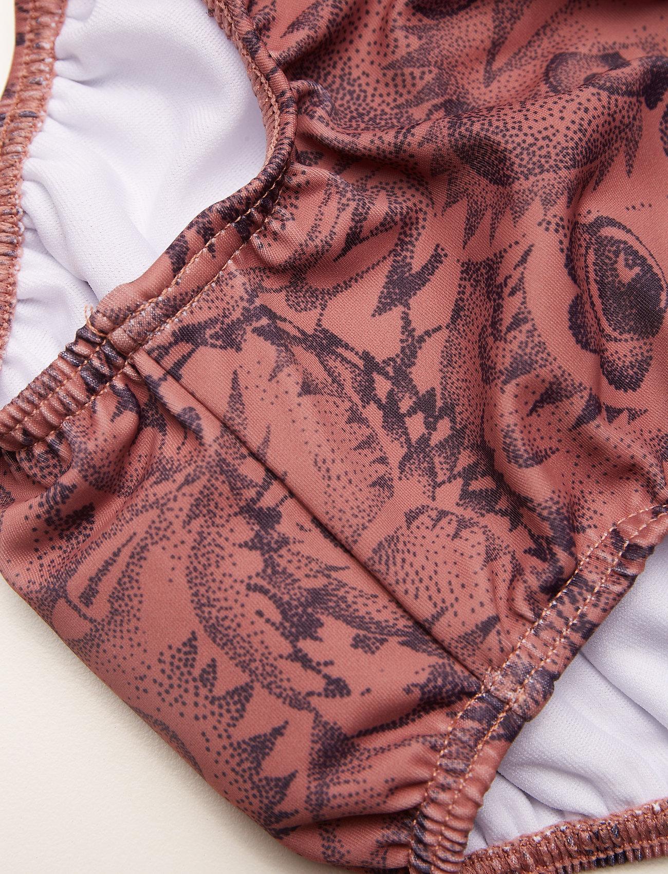 Soft Gallery - Mina Swim Pants - badehosen - burlwood, aop owl - 1