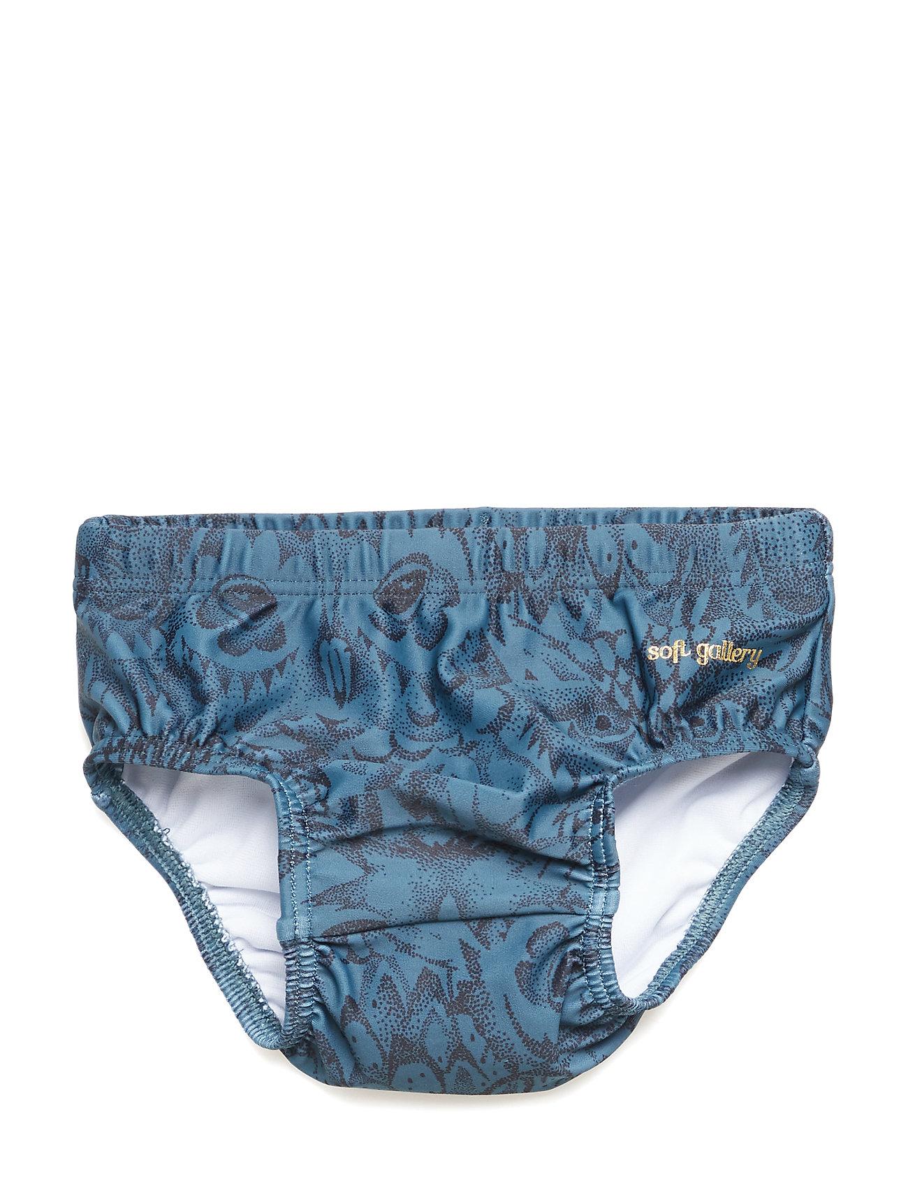 Soft Gallery Miki Swim Pants - ORION BLUE, AOP OWL