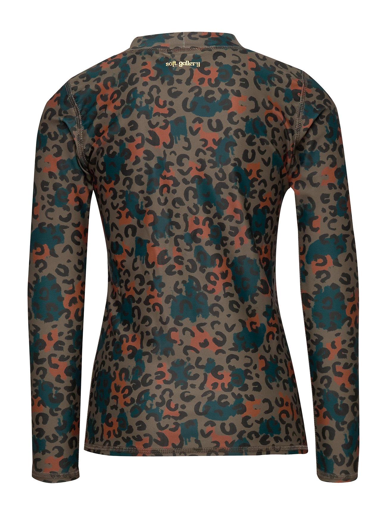 Soft Gallery Astin Sun Shirt (Fossil Aop Camoleo Swim) 314.30 kr | Stort utbud av designermärken 8g2F7UEM